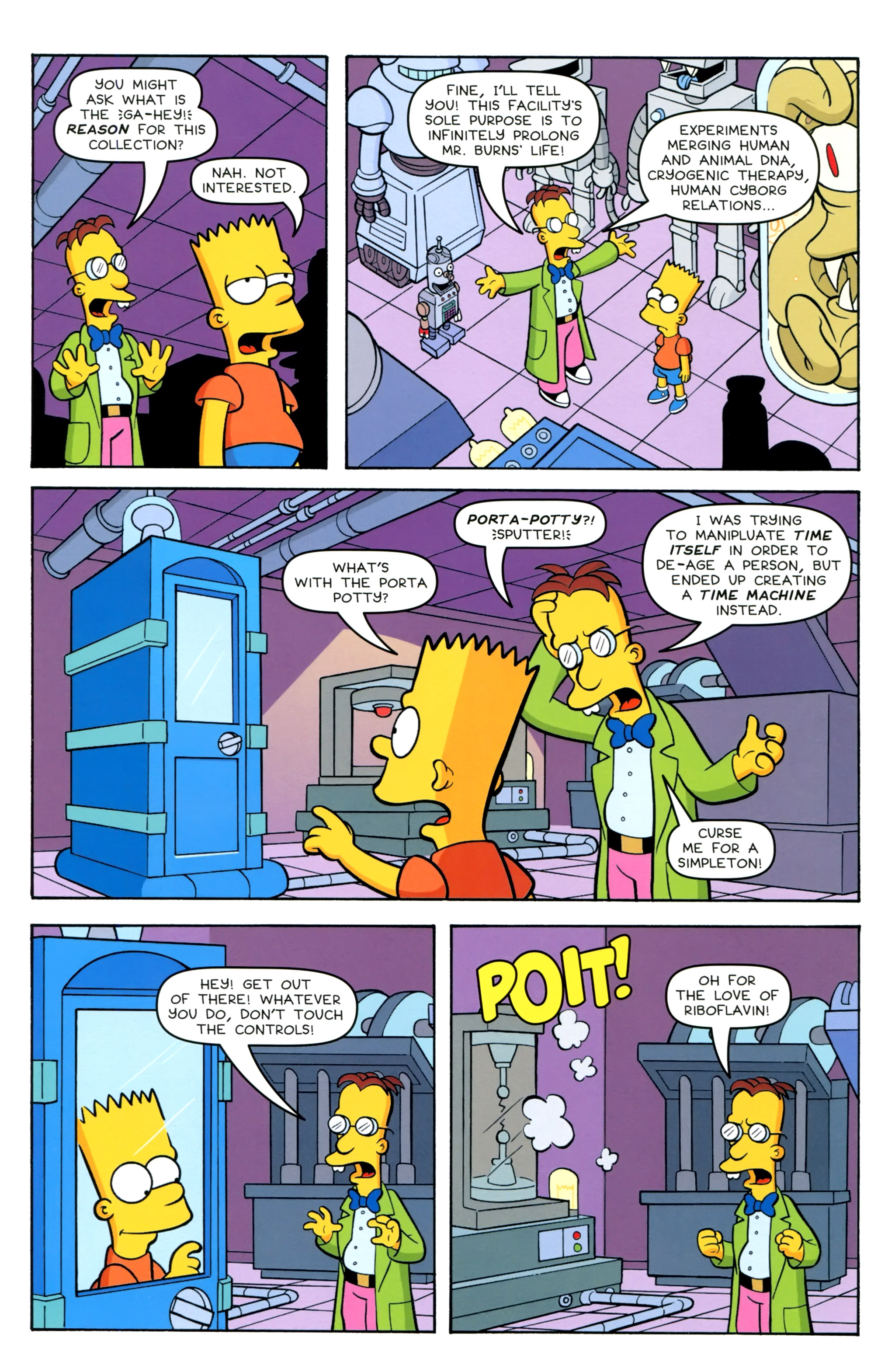 Read online Simpsons Comics Presents Bart Simpson comic -  Issue #100 - 10