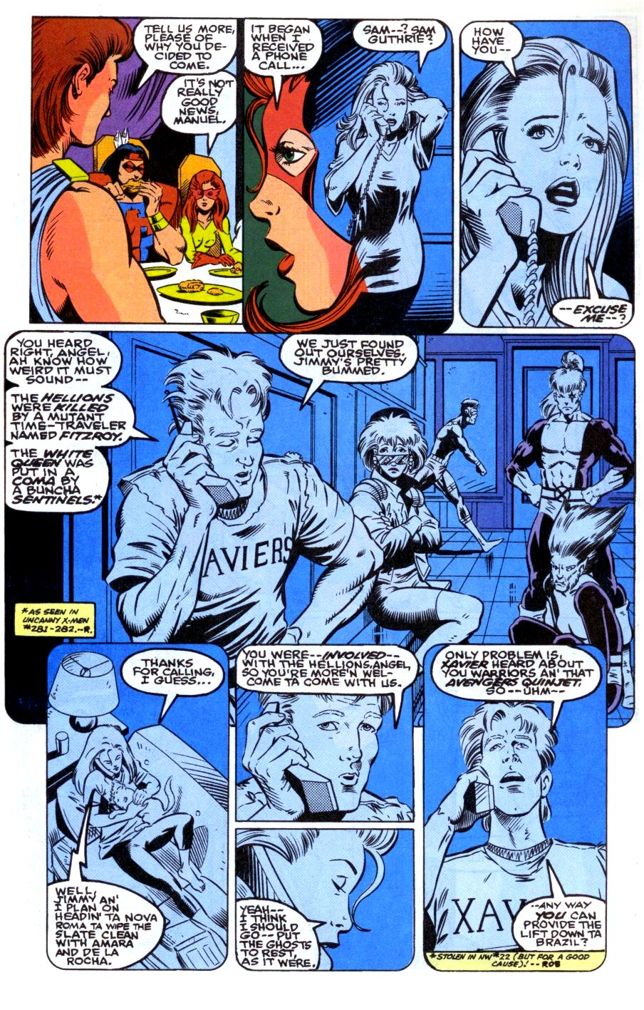 The New Warriors Issue #31 #35 - English 10