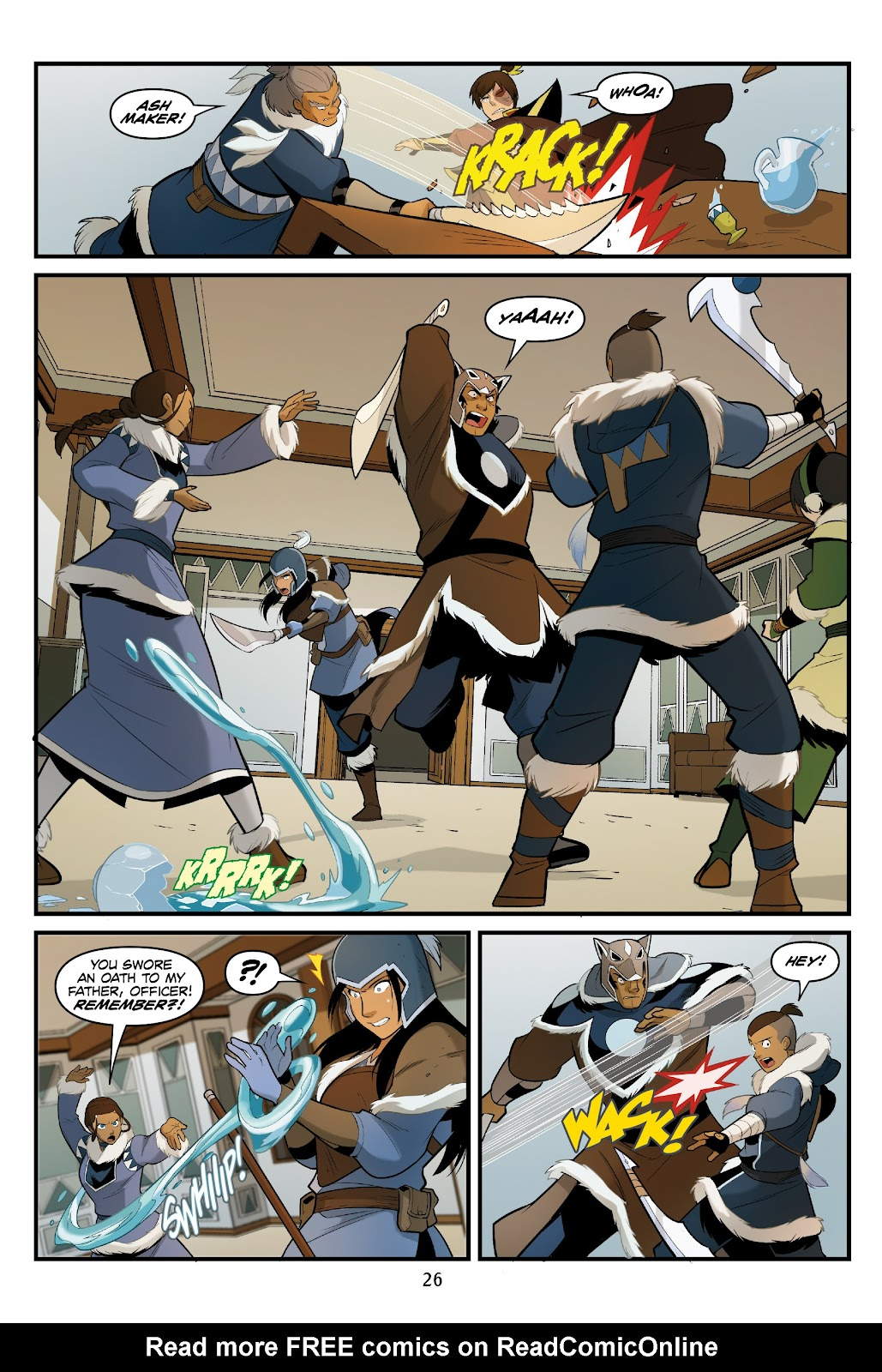 Nickelodeon Avatar: The Last Airbender - North and South issue 3 - Page 27