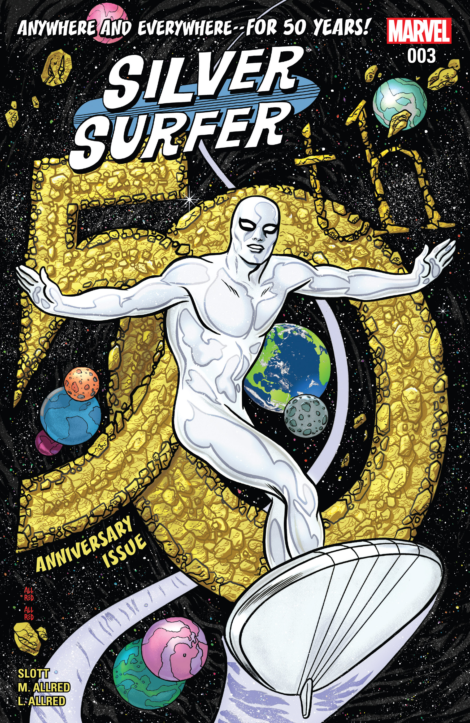 Read online Silver Surfer (2016) comic -  Issue #3 - 1