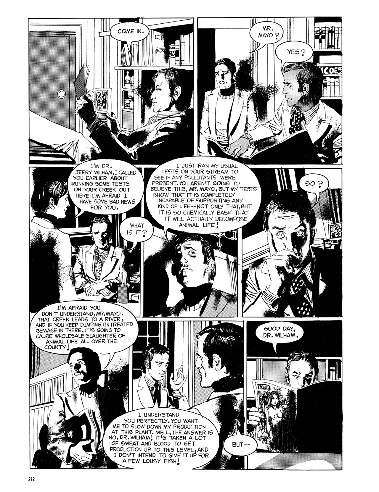 Read online Eerie Archives comic -  Issue # TPB 8 - 273