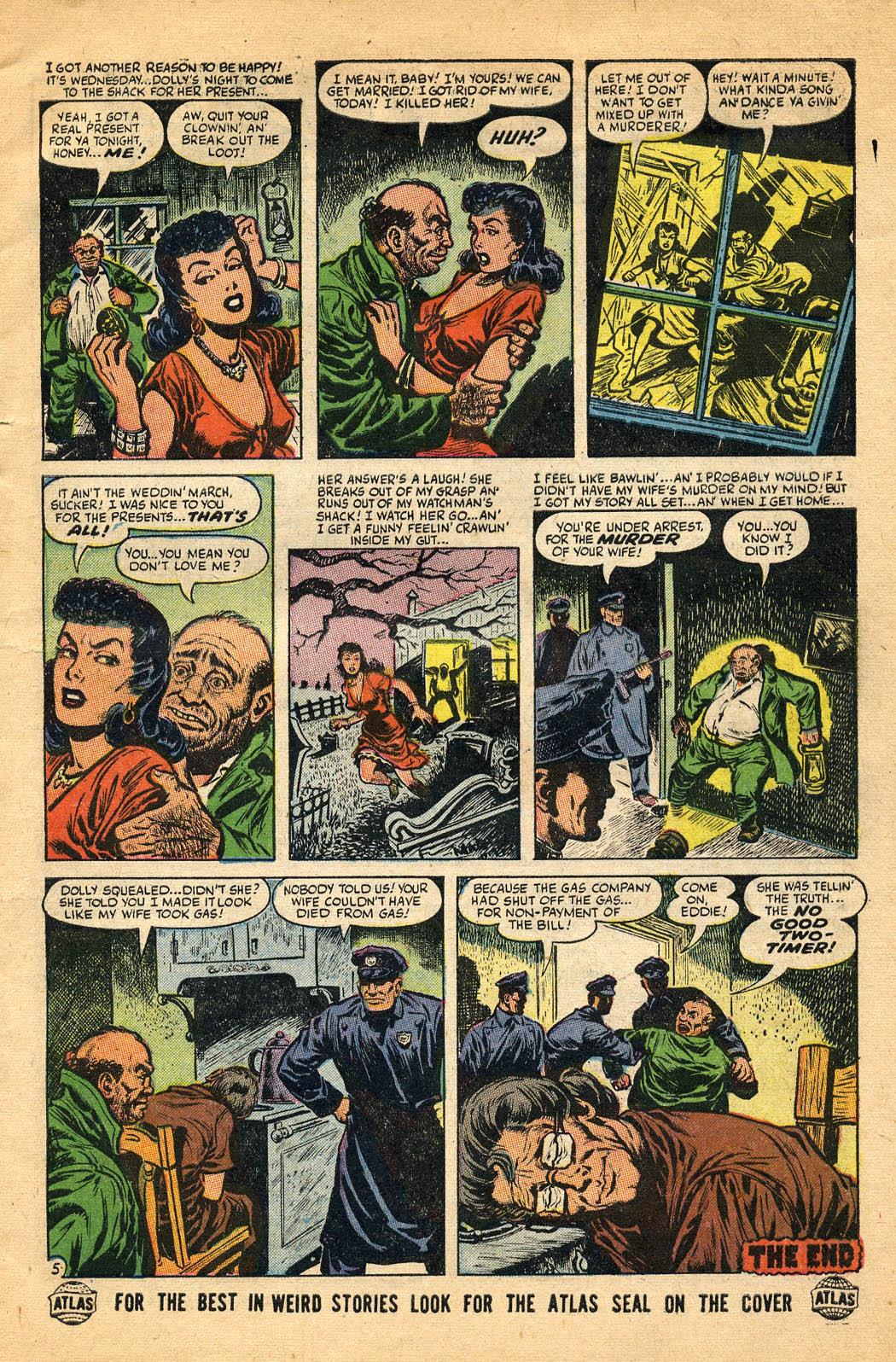 Read online Adventures into Weird Worlds comic -  Issue #29 - 7