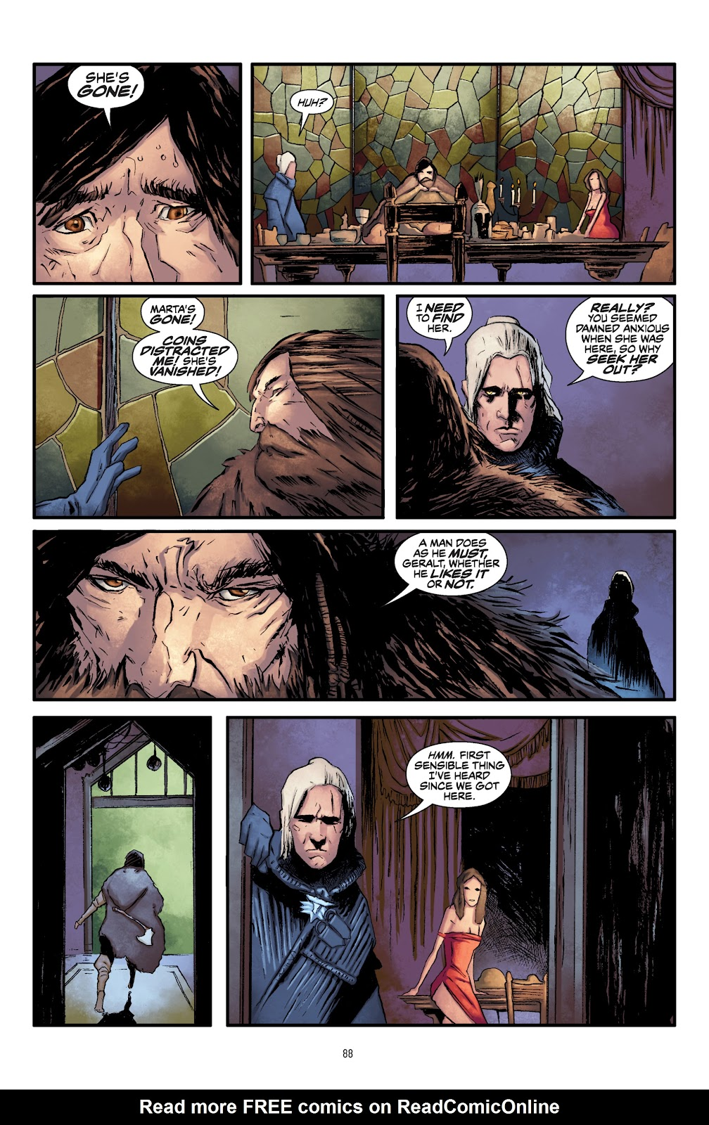 Read online The Witcher Omnibus comic -  Issue # TPB (Part 1) - 86