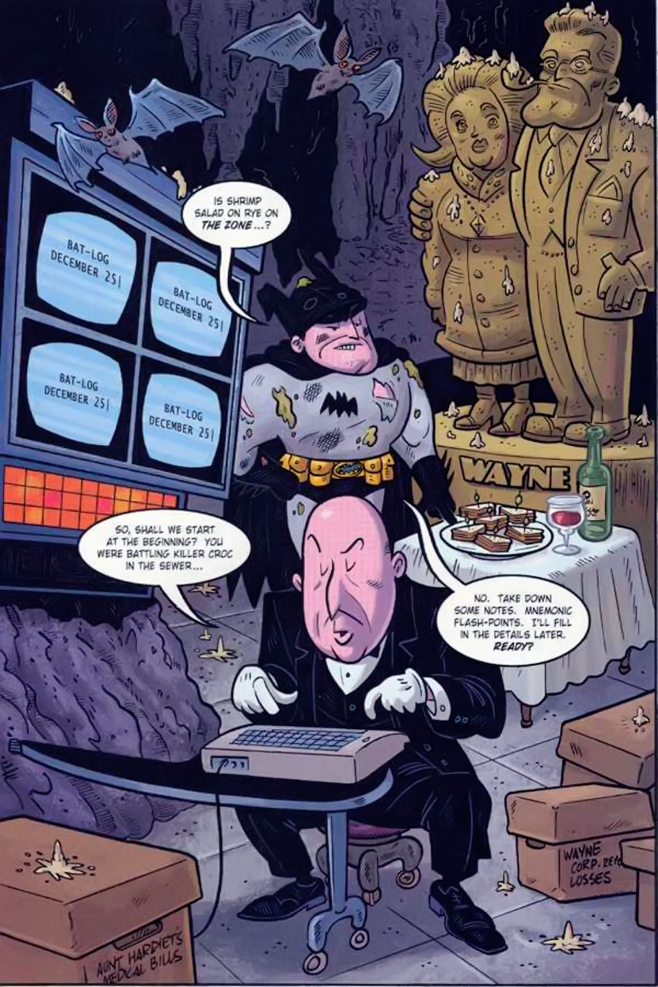Read online Bizarro World comic -  Issue # TPB - 44