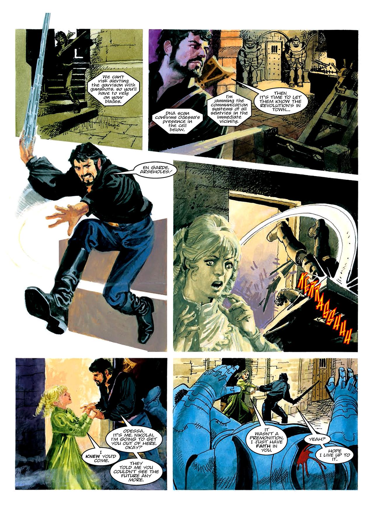 Read online Nikolai Dante comic -  Issue # TPB 10 - 53