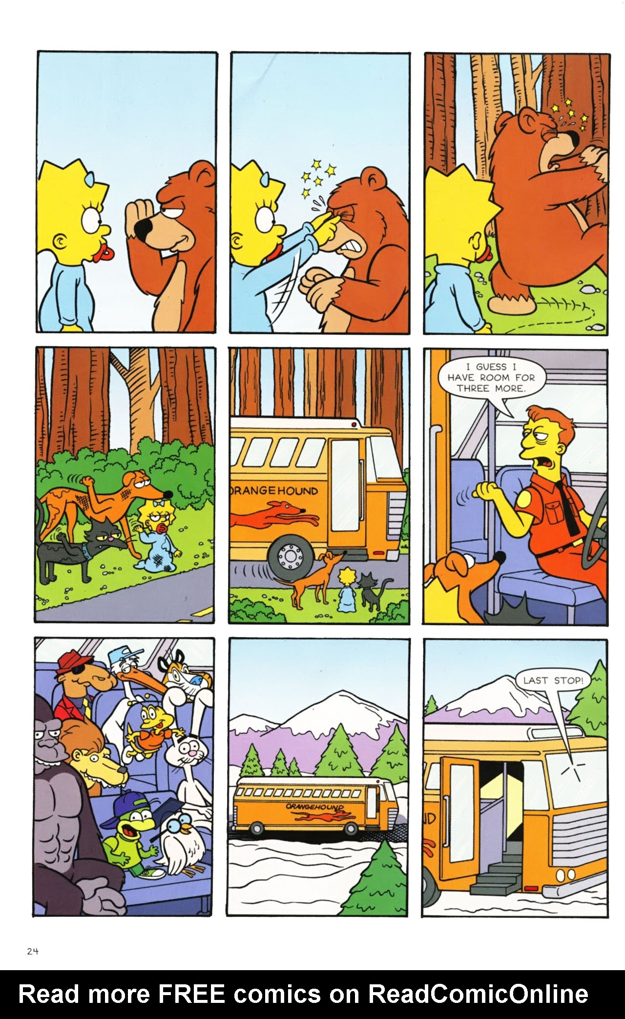 Read online Simpsons Comics comic -  Issue #160 - 22