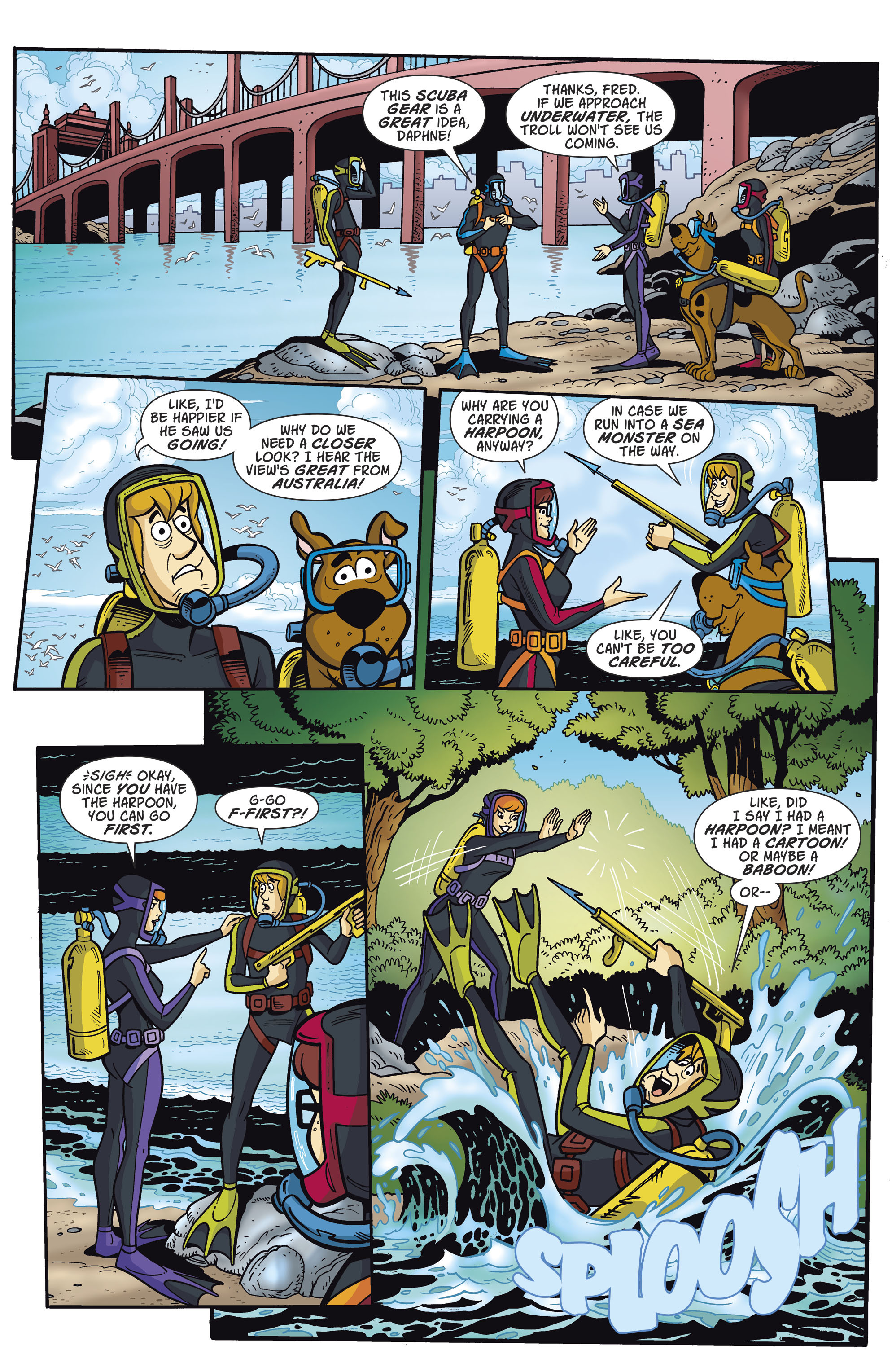 Read online Scooby-Doo: Where Are You? comic -  Issue #81 - 7
