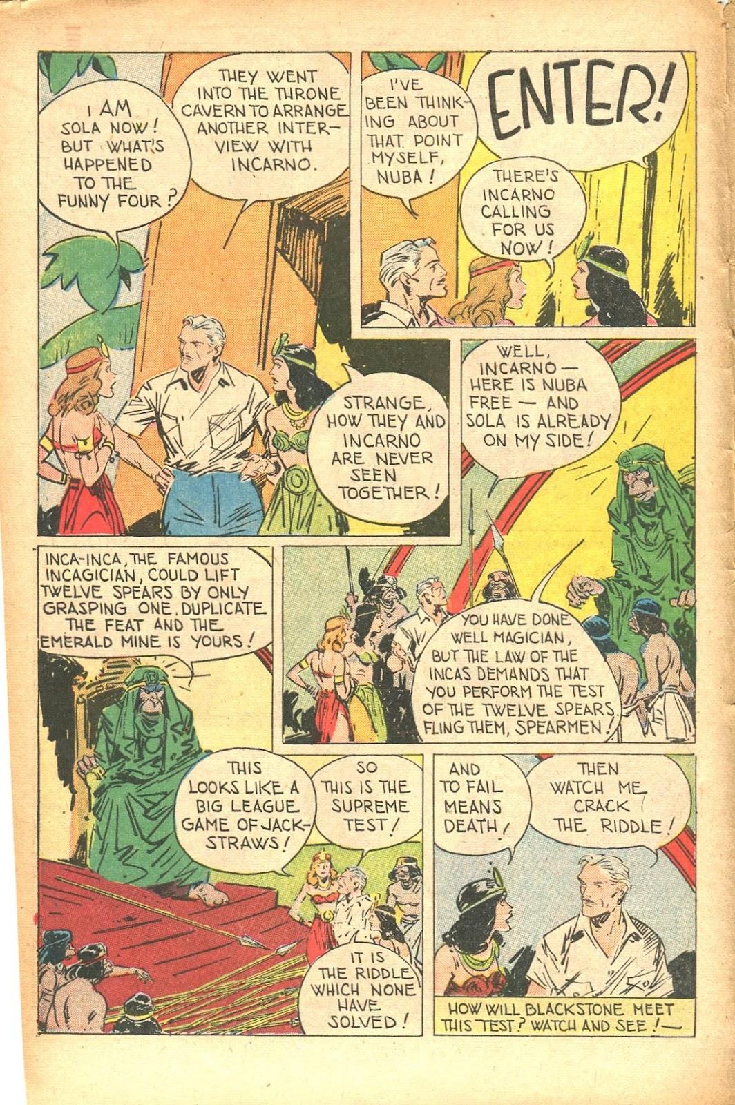 Read online Super-Magician Comics comic -  Issue #35 - 12