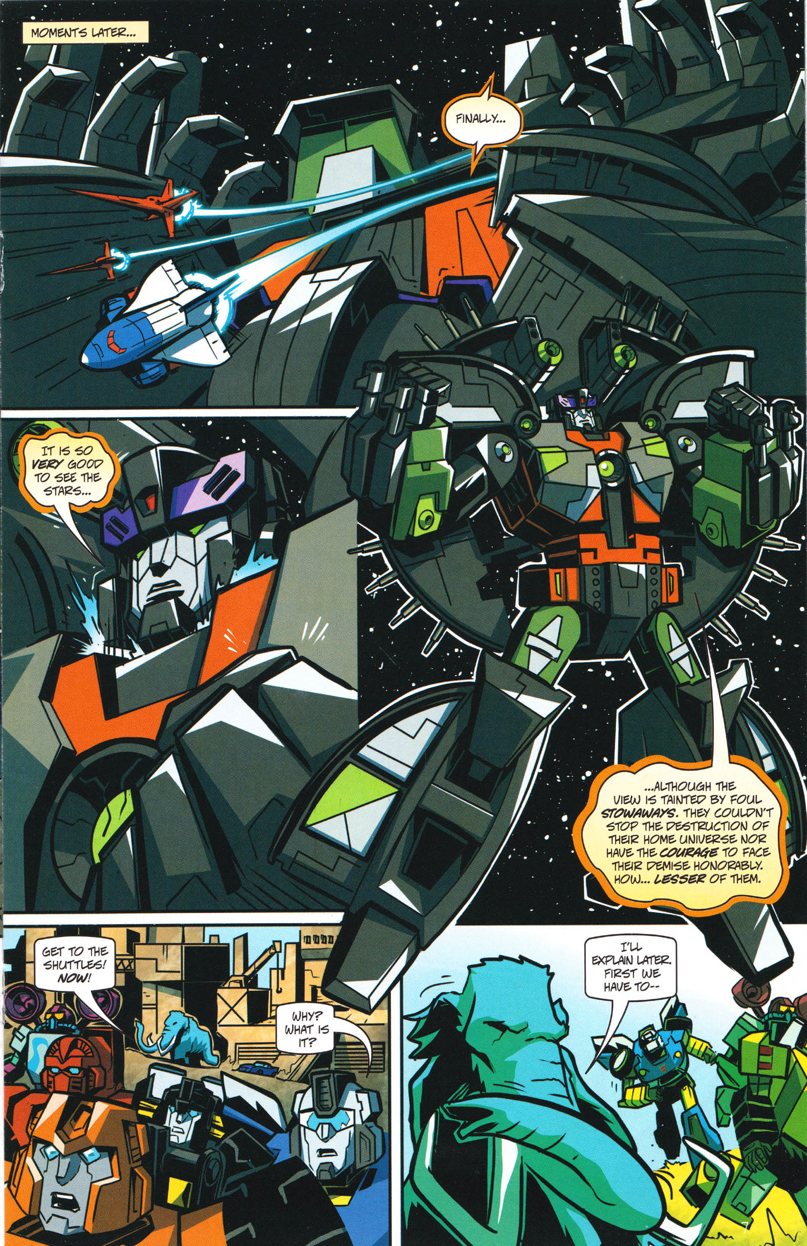 Read online Transformers: Collectors' Club comic -  Issue #66 - 7