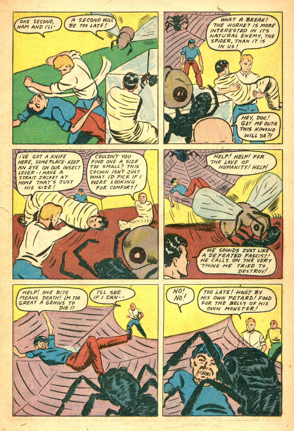 Read online Shadow Comics comic -  Issue #47 - 24