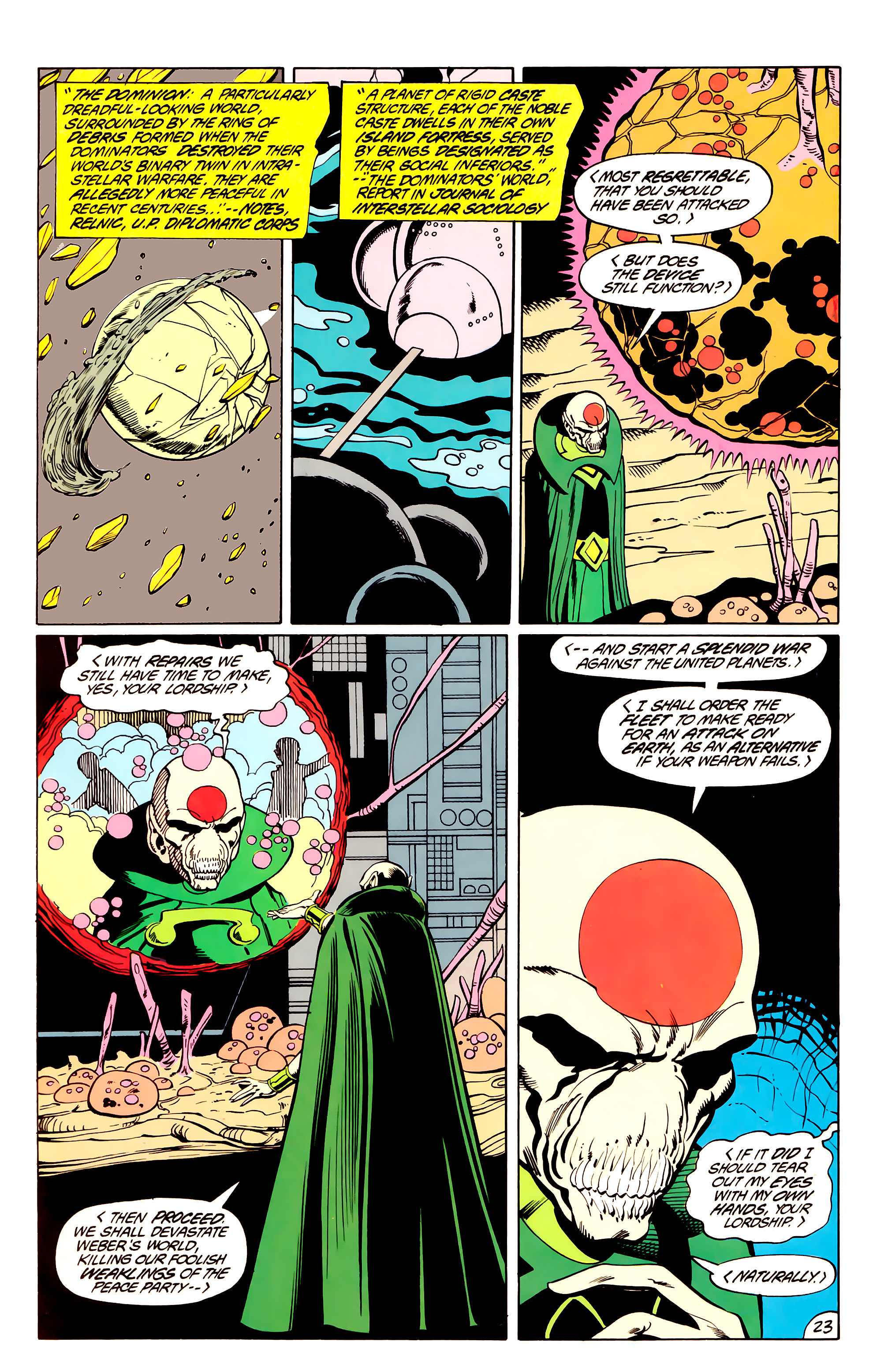 Legion of Super-Heroes (1984) _Annual_3 Page 23