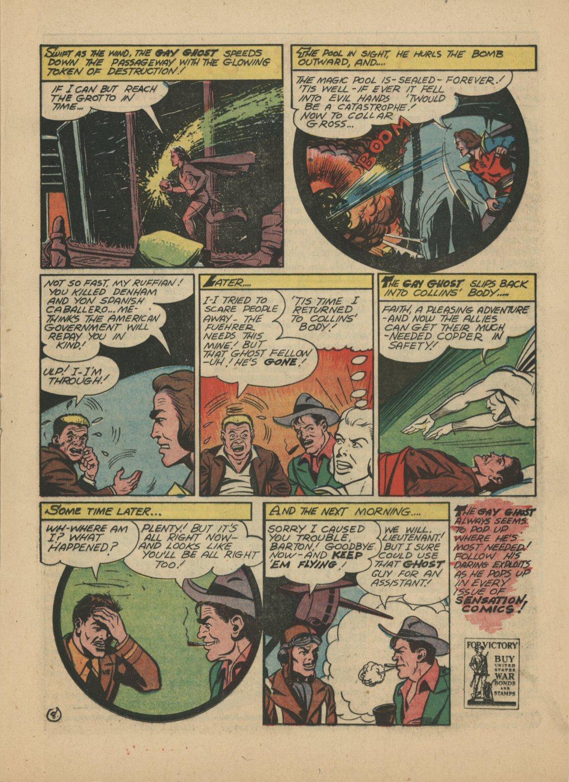 Read online Sensation (Mystery) Comics comic -  Issue #21 - 30