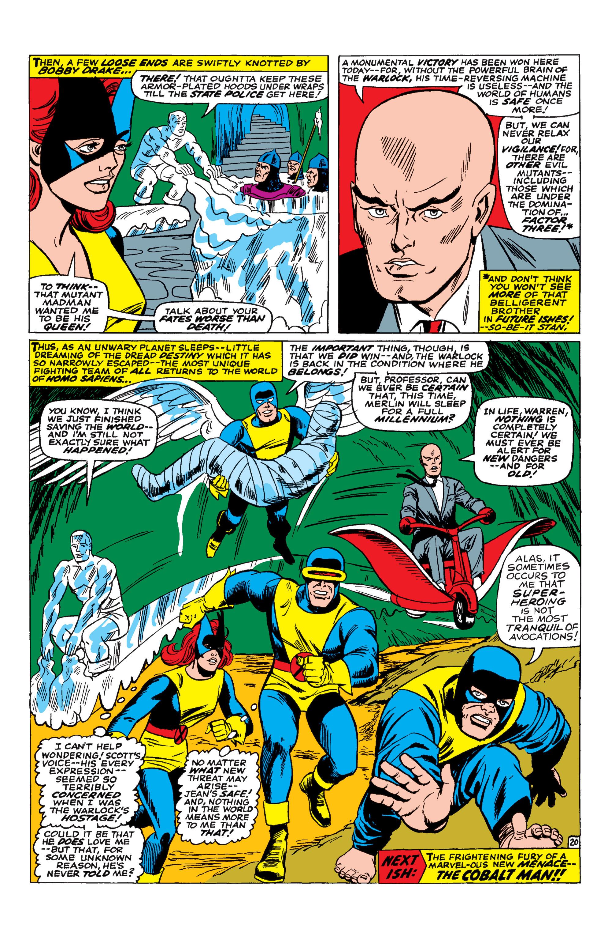 Uncanny X-Men (1963) 30 Page 20
