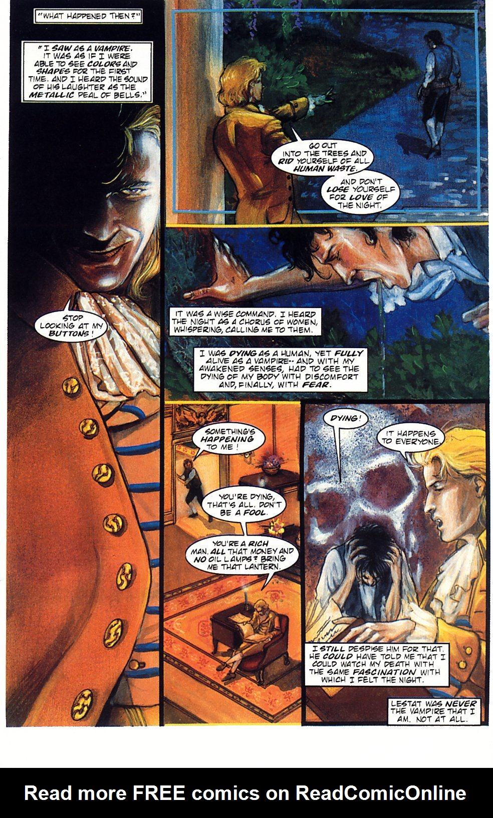 Read online Anne Rice's Interview with the Vampire comic -  Issue #1 - 22