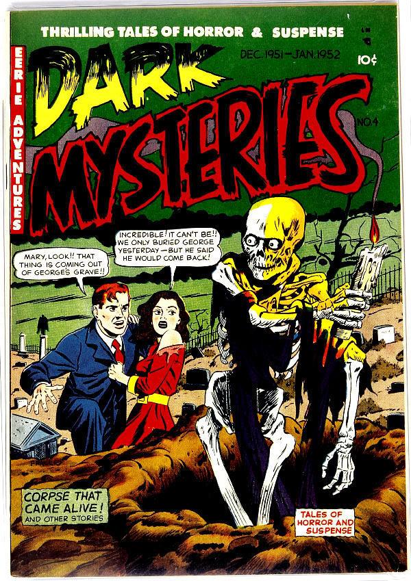 Dark Mysteries 4 Page 1