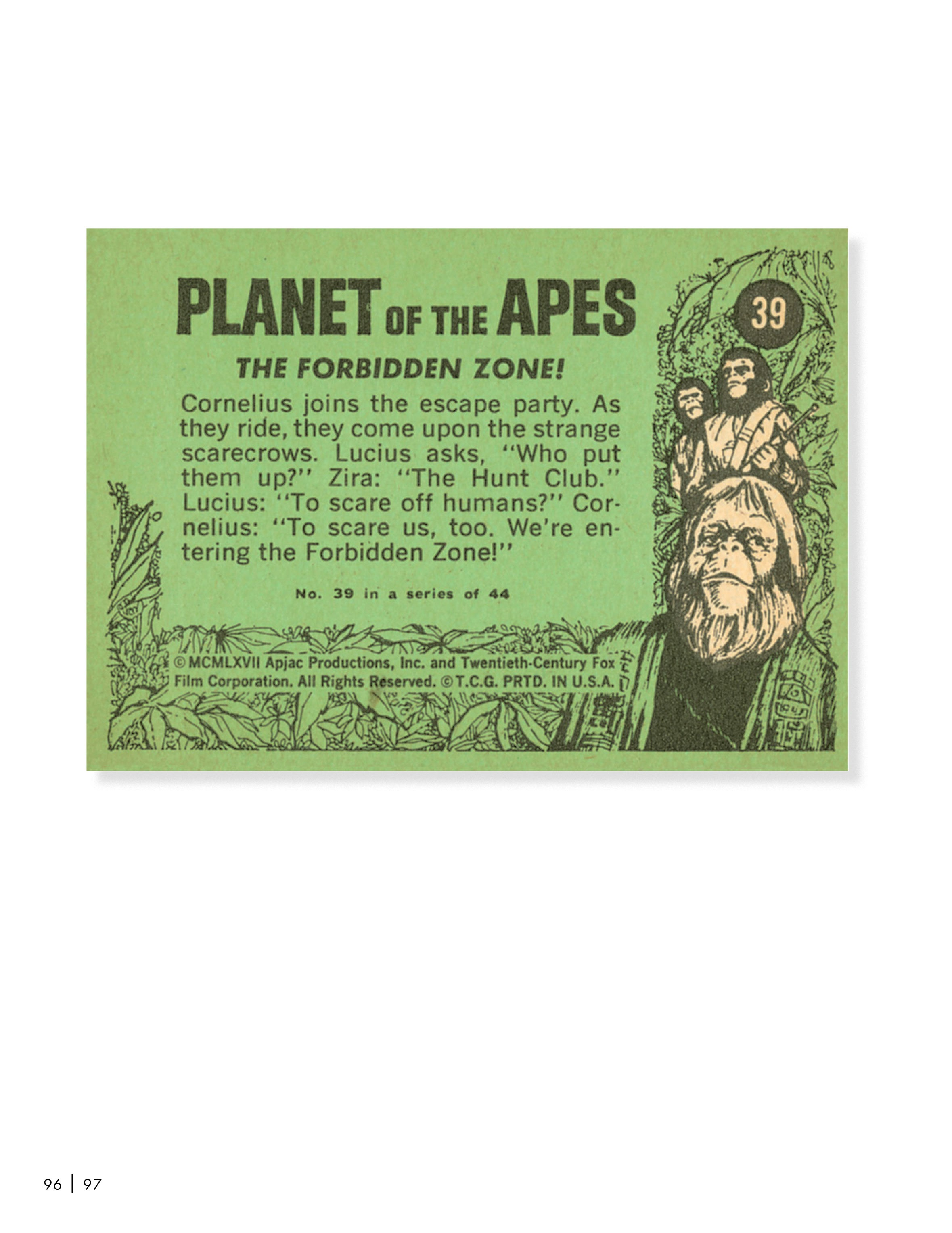 Planet of the Apes: The Original Topps Trading Card Series TPB (Part 2) Page 1