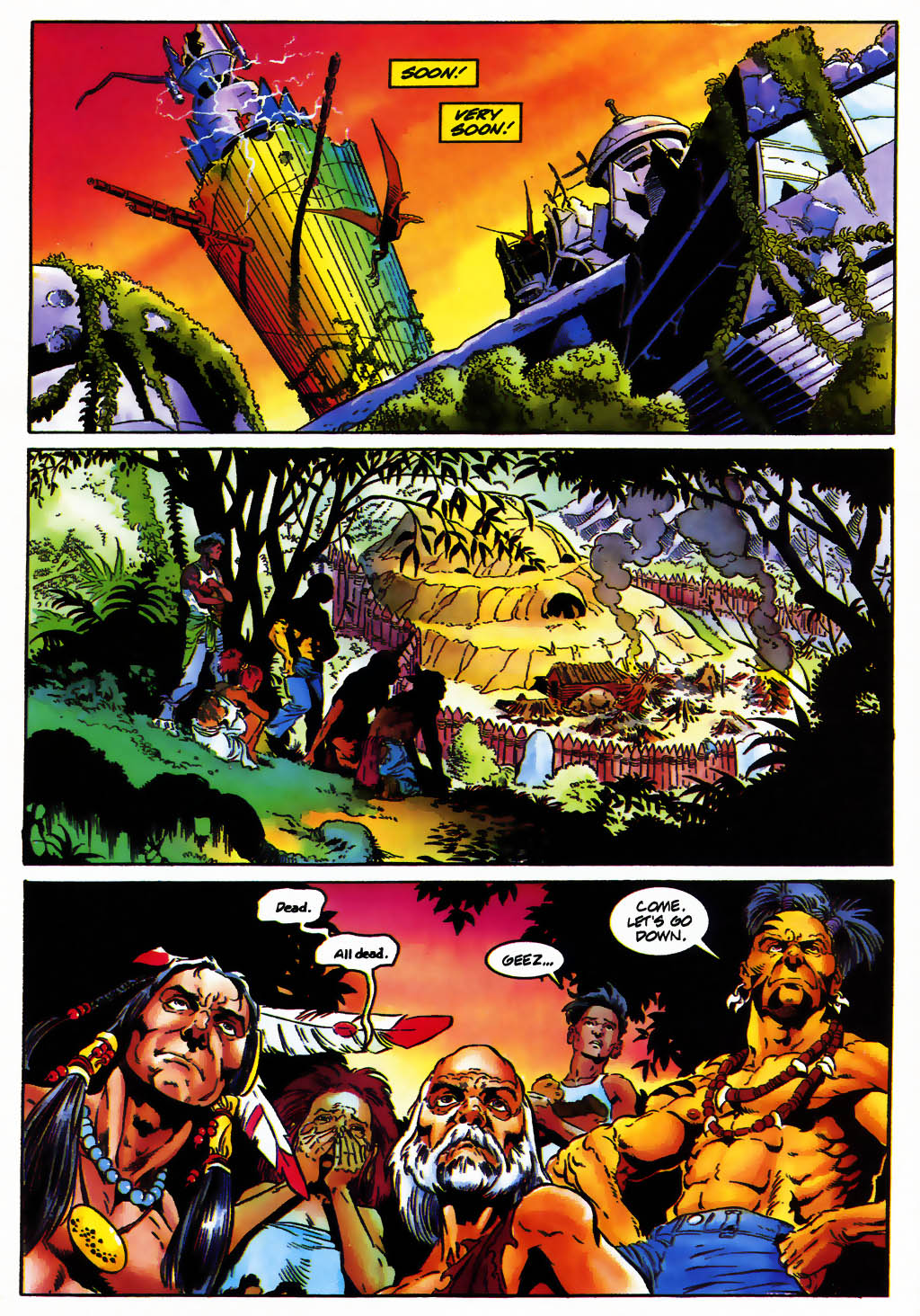 Read online Turok, Dinosaur Hunter (1993) comic -  Issue #25 - 12