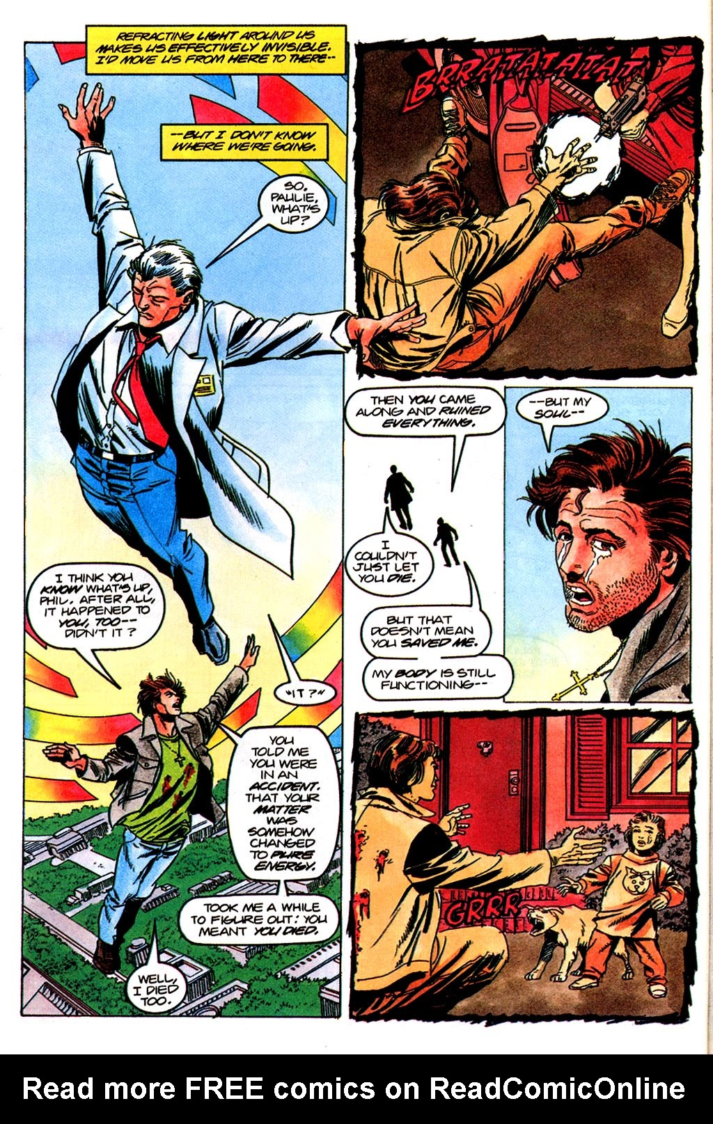 Read online Solar, Man of the Atom comic -  Issue #45 - 15