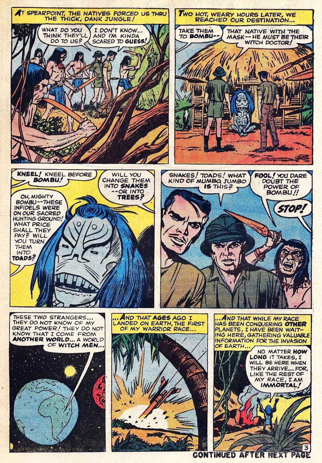 Where Monsters Dwell (1970) issue 9 - Page 5