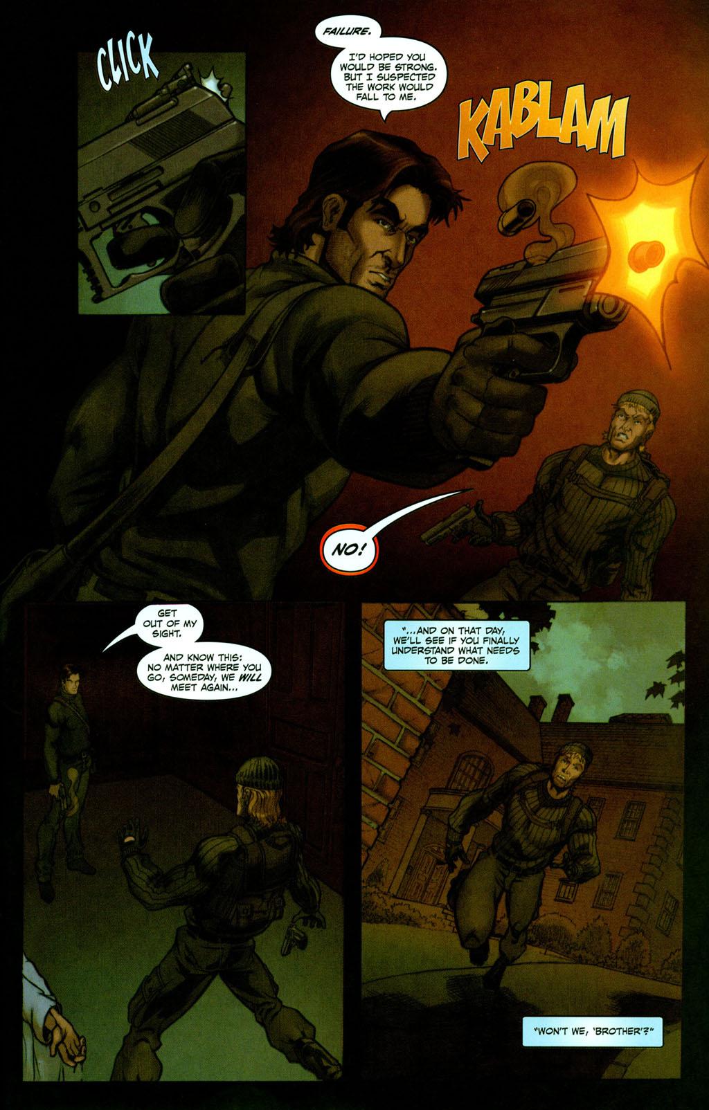 Read online Snake Eyes: Declassified comic -  Issue #2 - 20