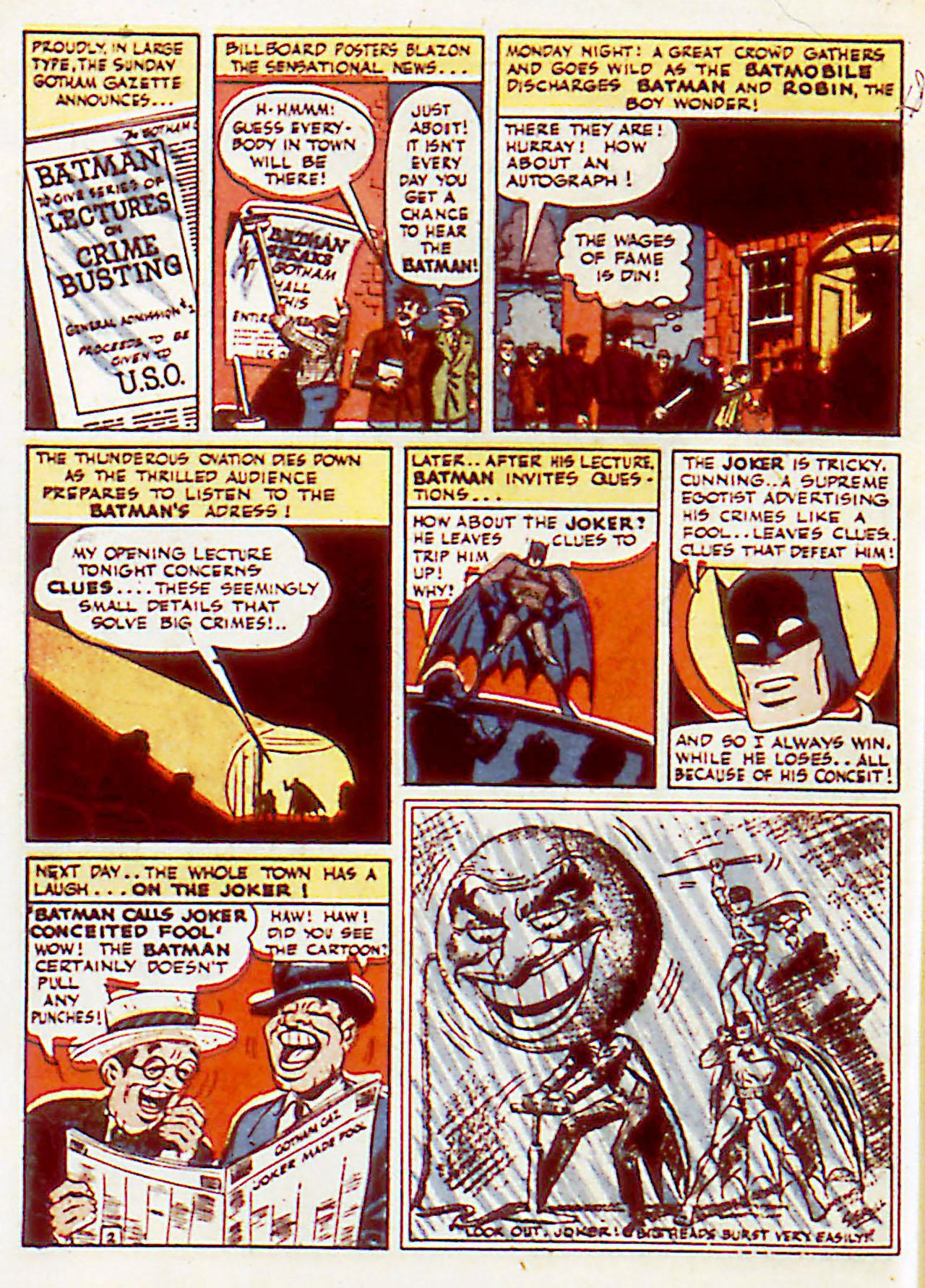 Read online Detective Comics (1937) comic -  Issue #71 - 4
