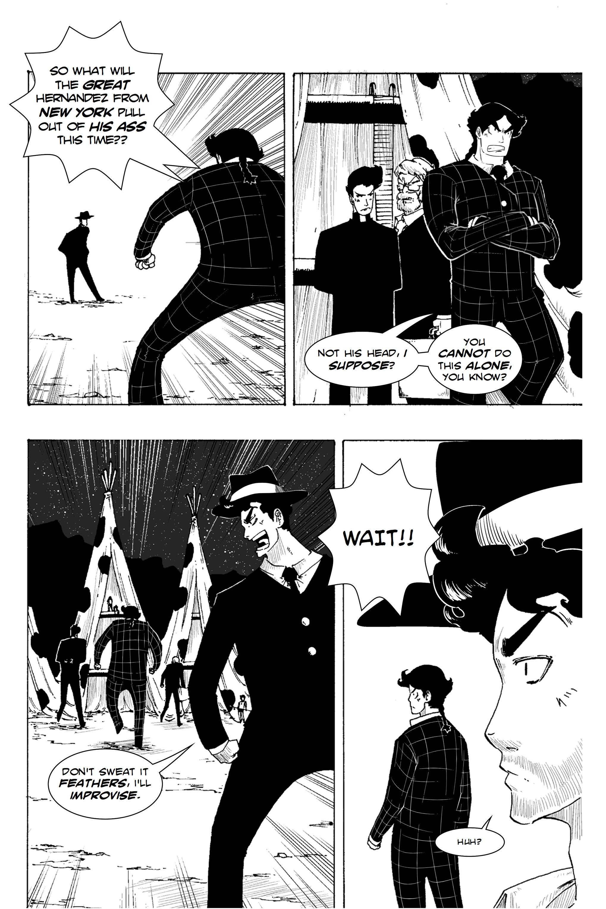 Read online Silvertongue 30xx Vol. 1 comic -  Issue # Full - 29