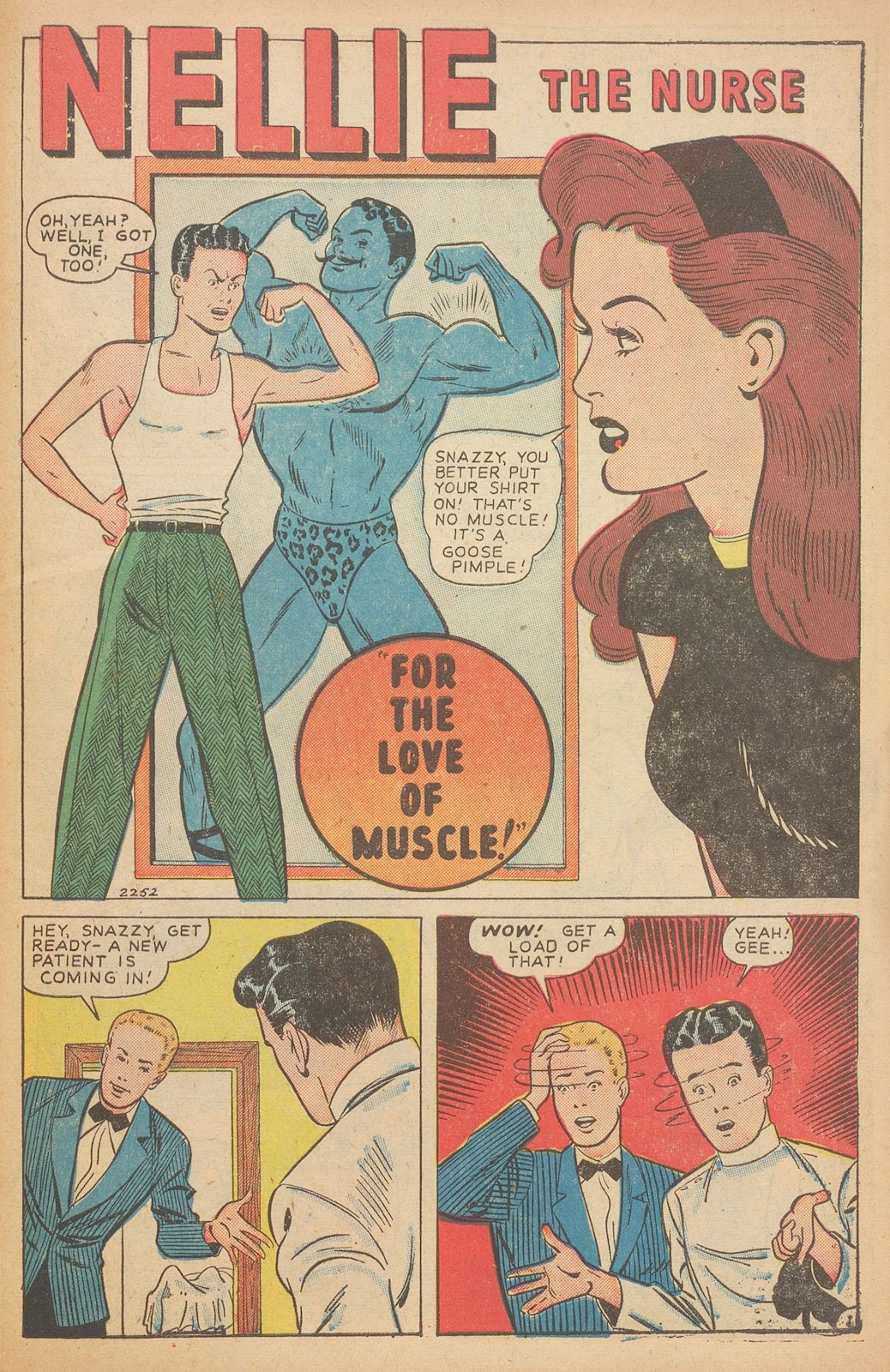 Read online Nellie The Nurse (1945) comic -  Issue #15 - 43