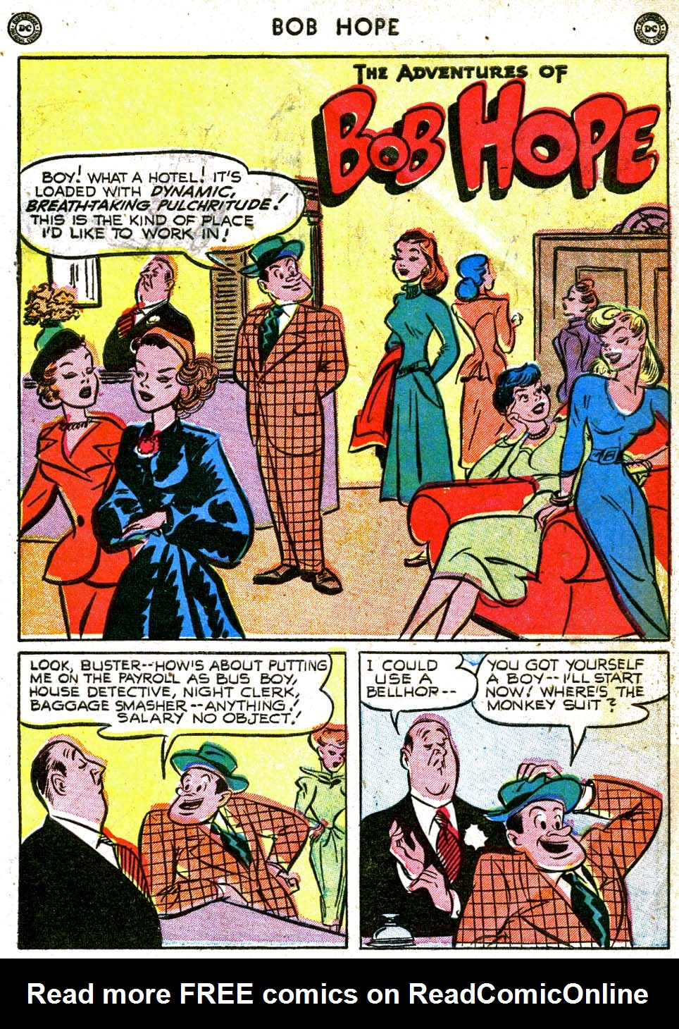 The Adventures of Bob Hope issue 8 - Page 3