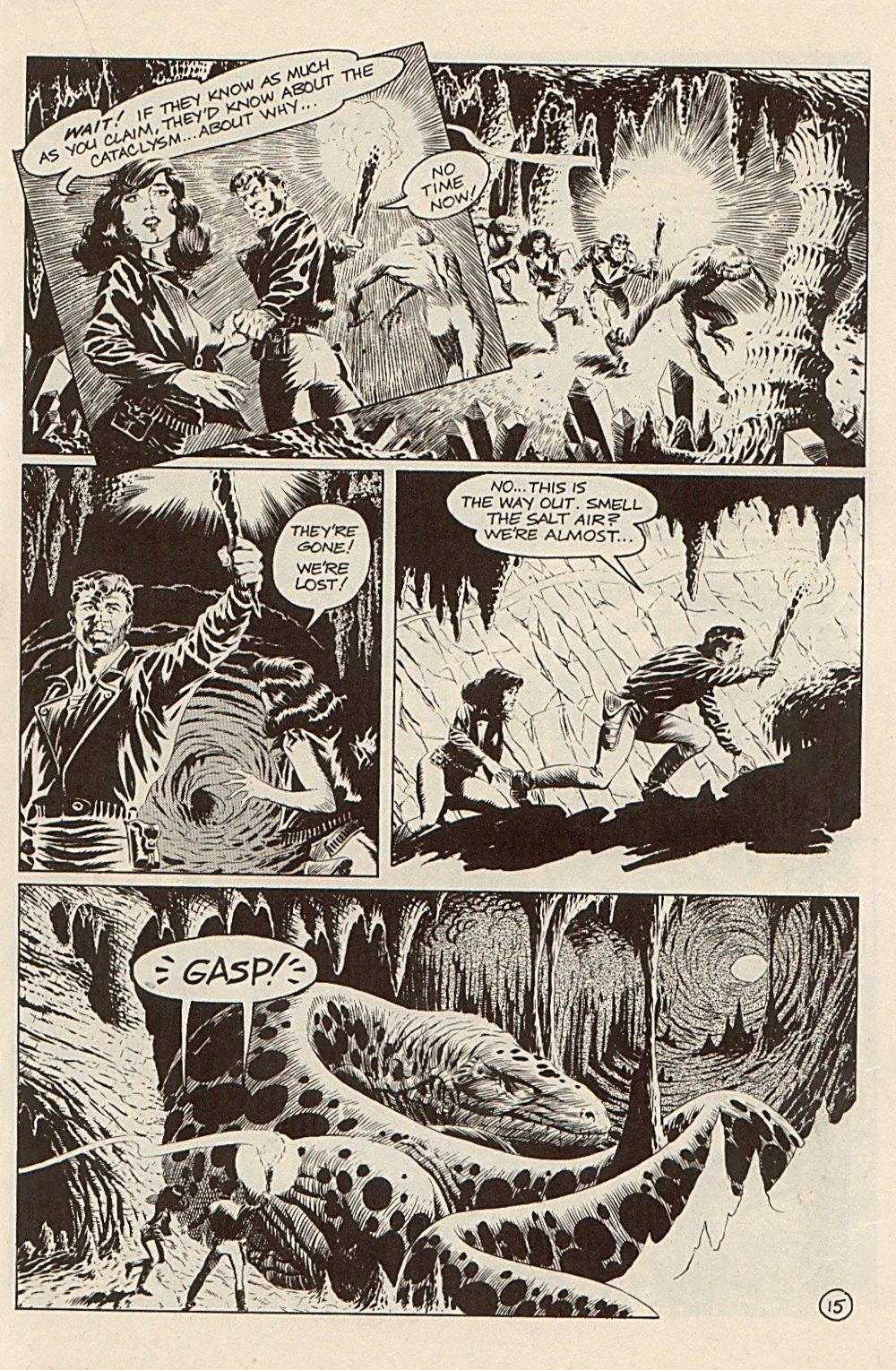 Read online Xenozoic Tales comic -  Issue #3 - 18