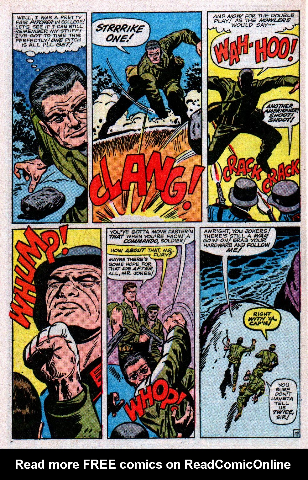 Read online Sgt. Fury comic -  Issue #11 - 28