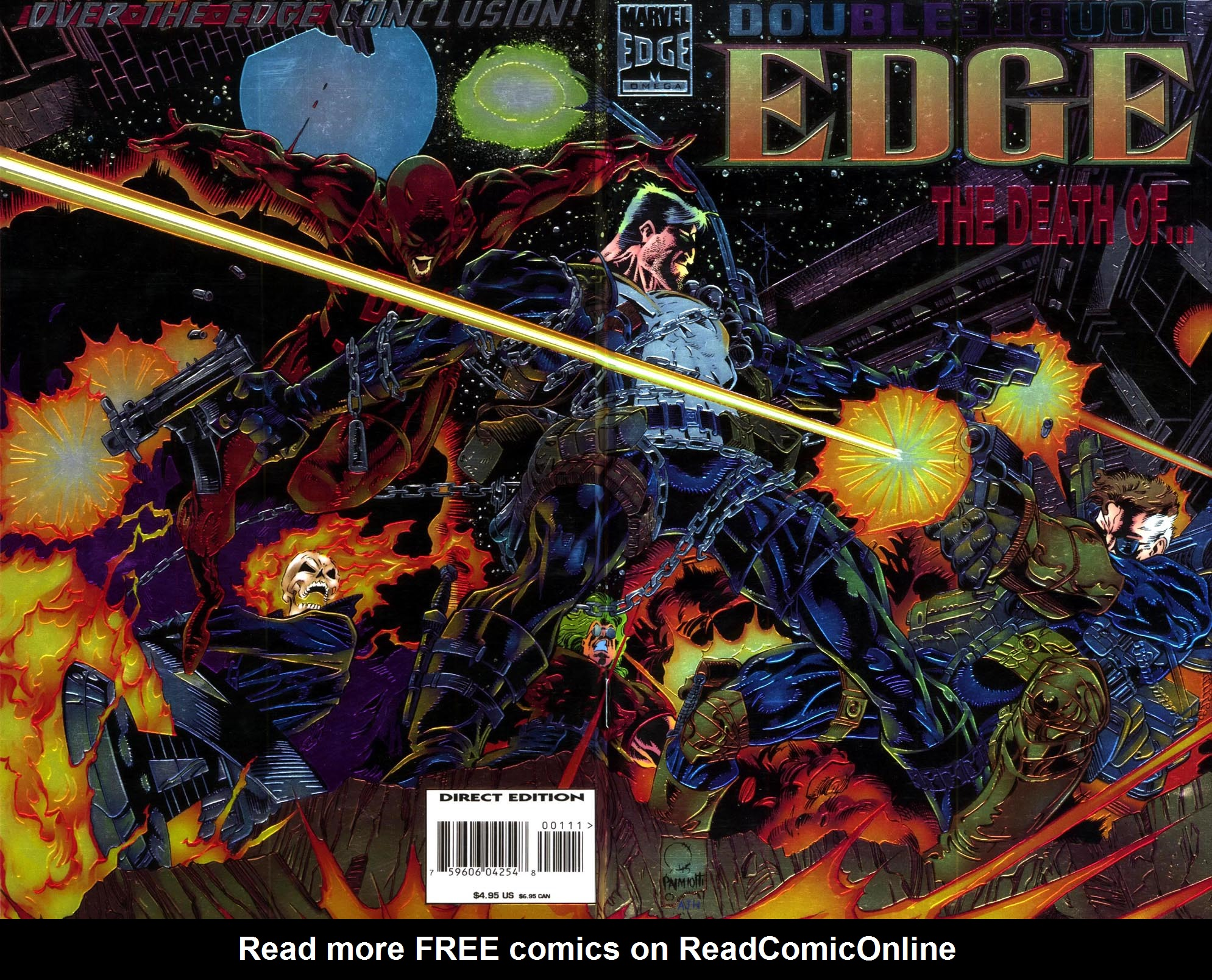Read online Double Edge comic -  Issue # Issue Omega - 1