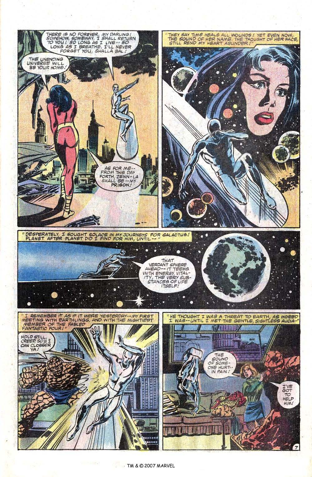 Read online Silver Surfer (1982) comic -  Issue # Full - 9