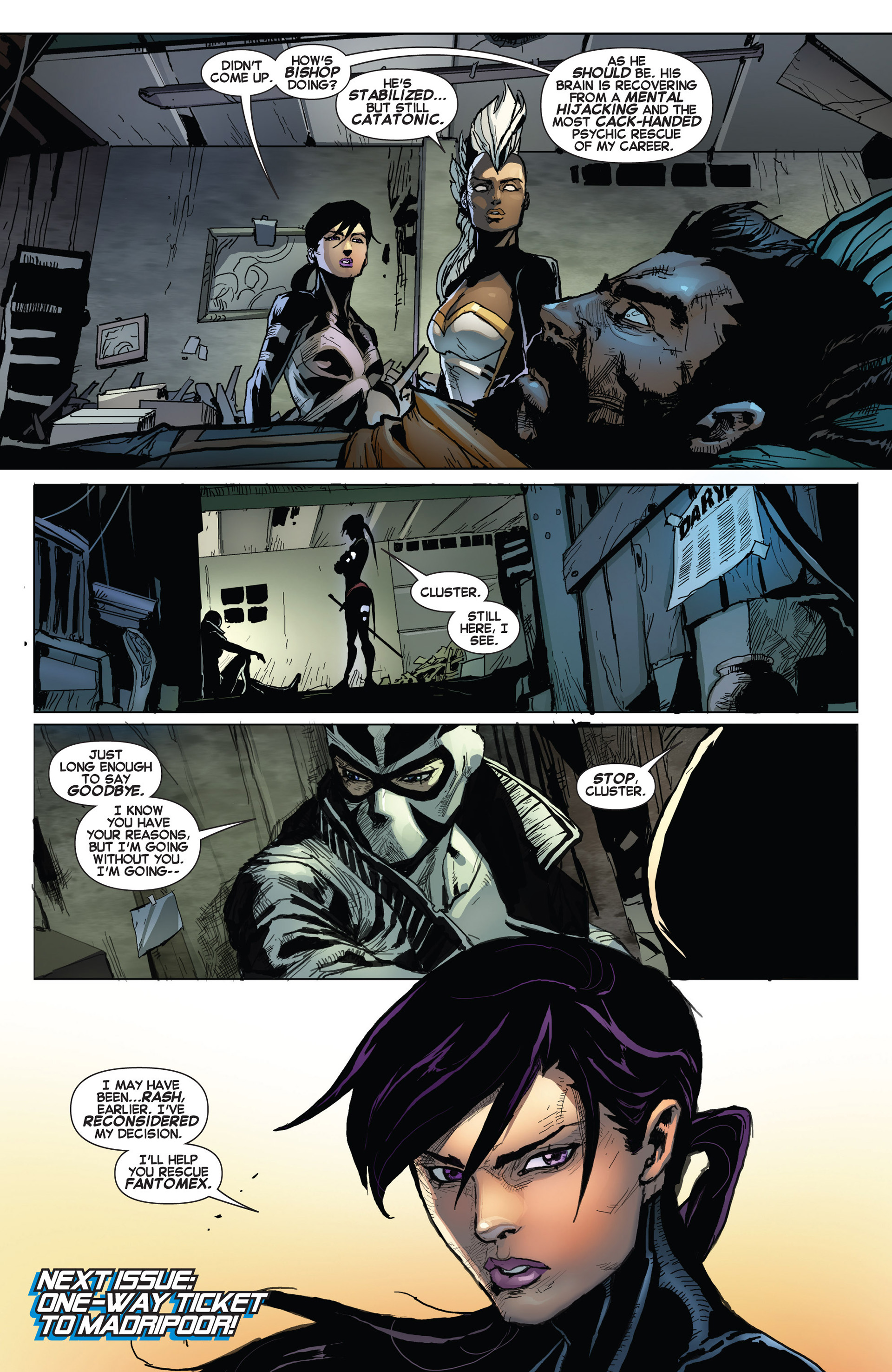 Read online Uncanny X-Force (2013) comic -  Issue #6 - 22
