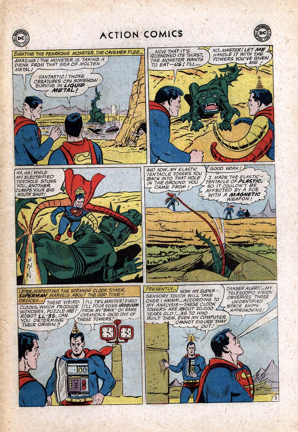 Read online Action Comics (1938) comic -  Issue #299 - 5