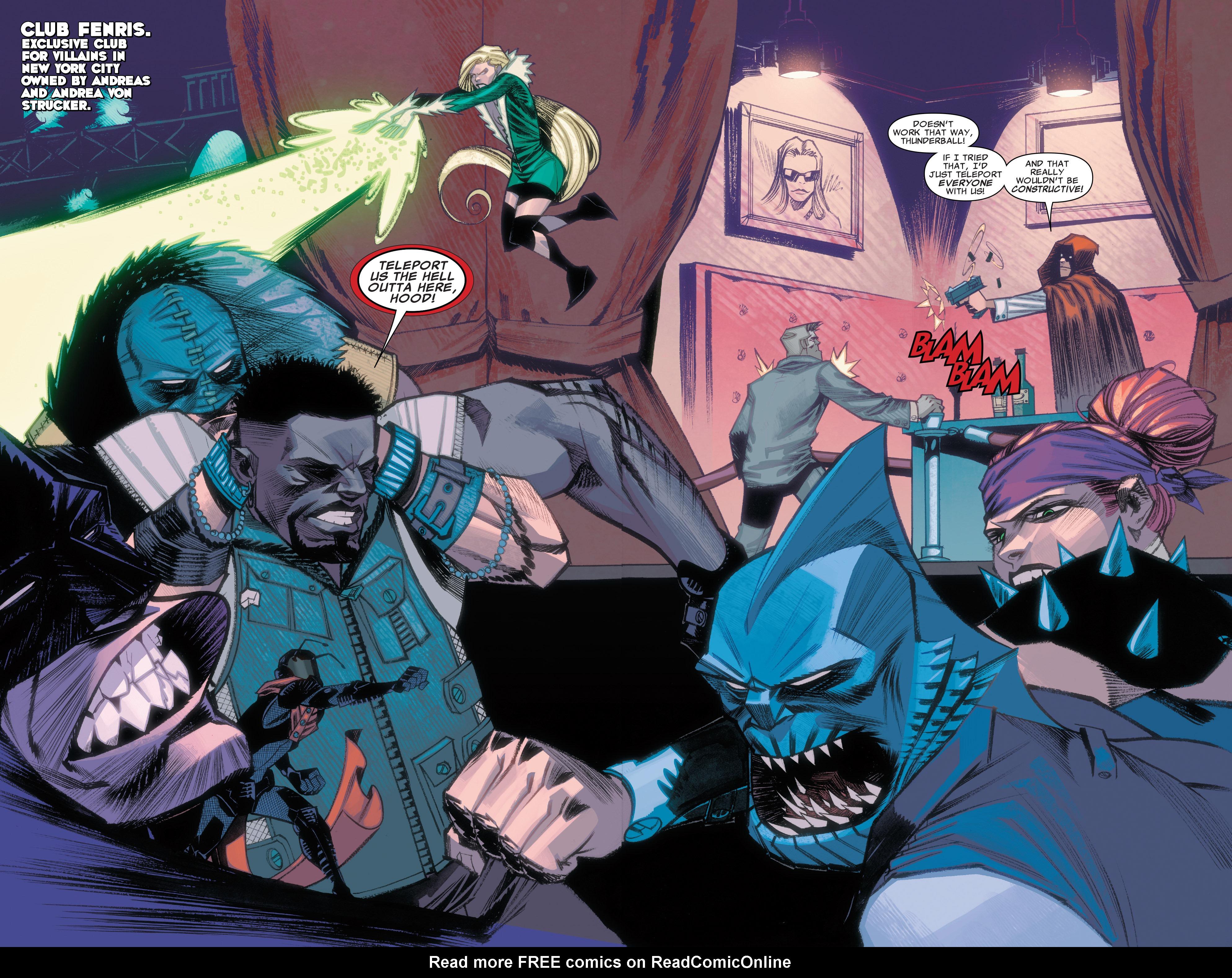 Read online Illuminati comic -  Issue #3 - 3
