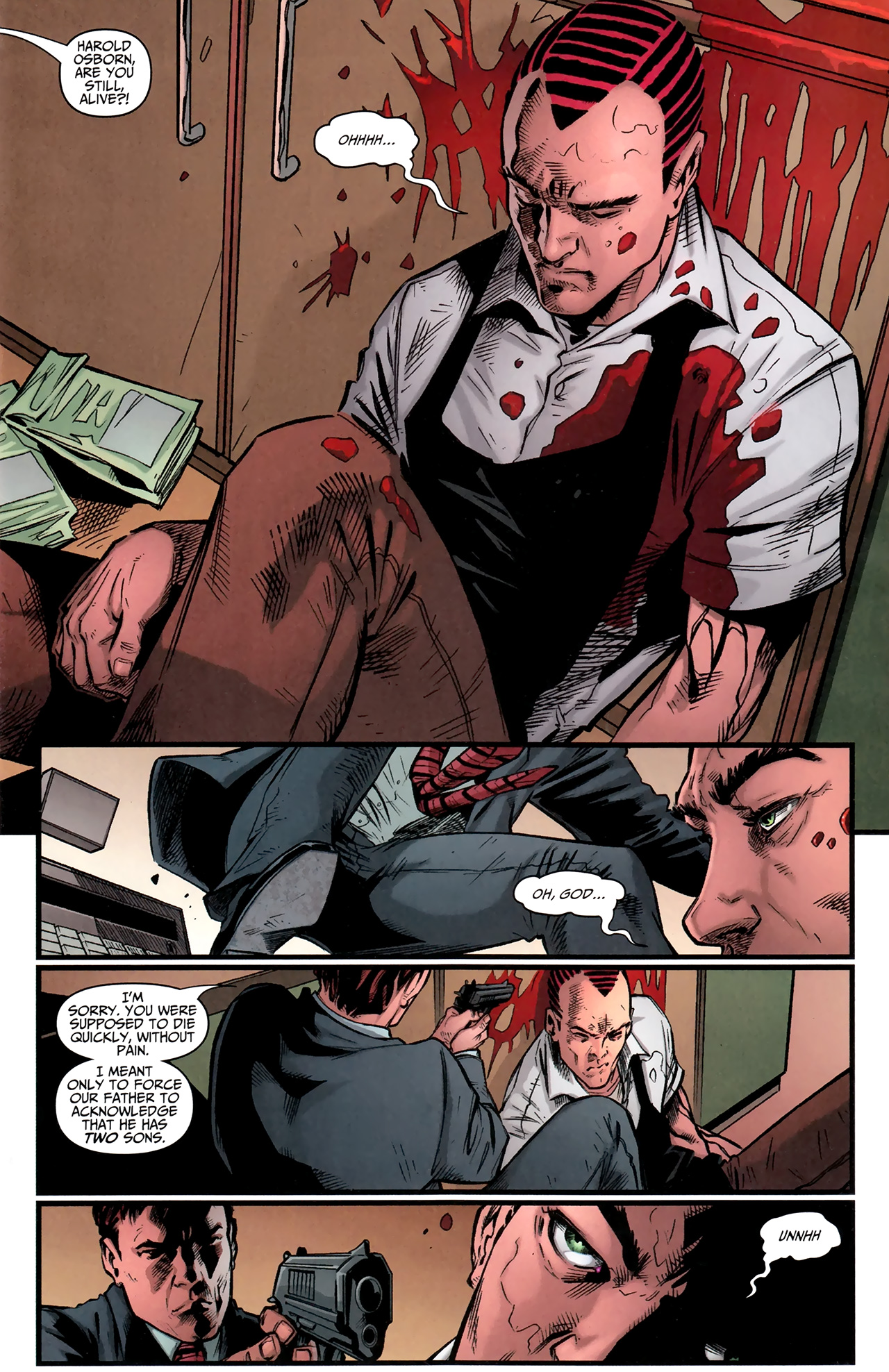 Read online Amazing Spider-Man Presents: American Son comic -  Issue #2 - 2