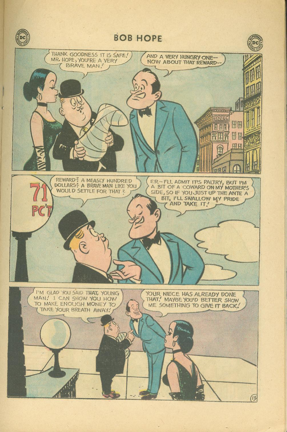 The Adventures of Bob Hope issue 76 - Page 19