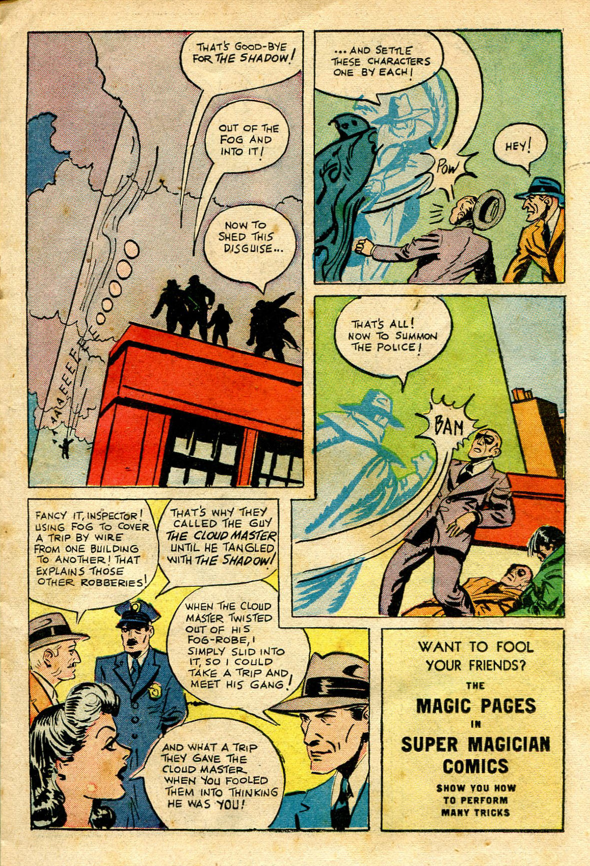 Read online Shadow Comics comic -  Issue #65 - 19