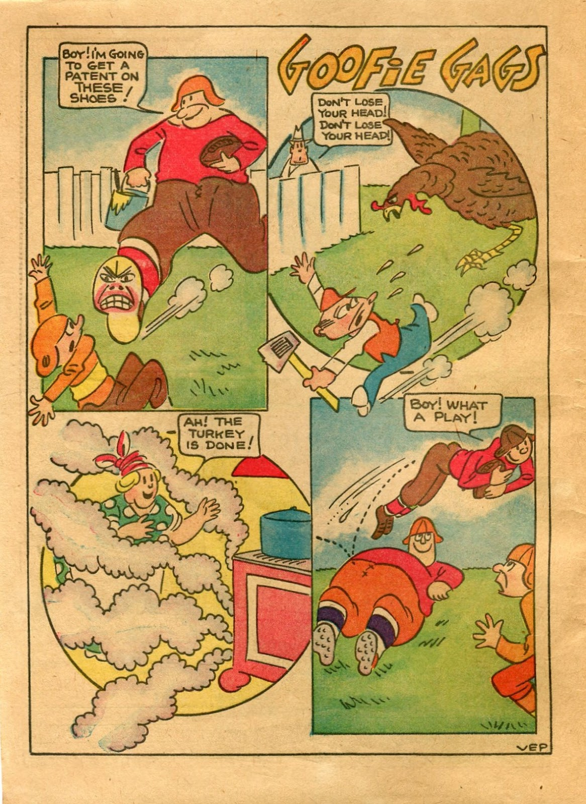 Read online Famous Funnies comic -  Issue #64 - 4
