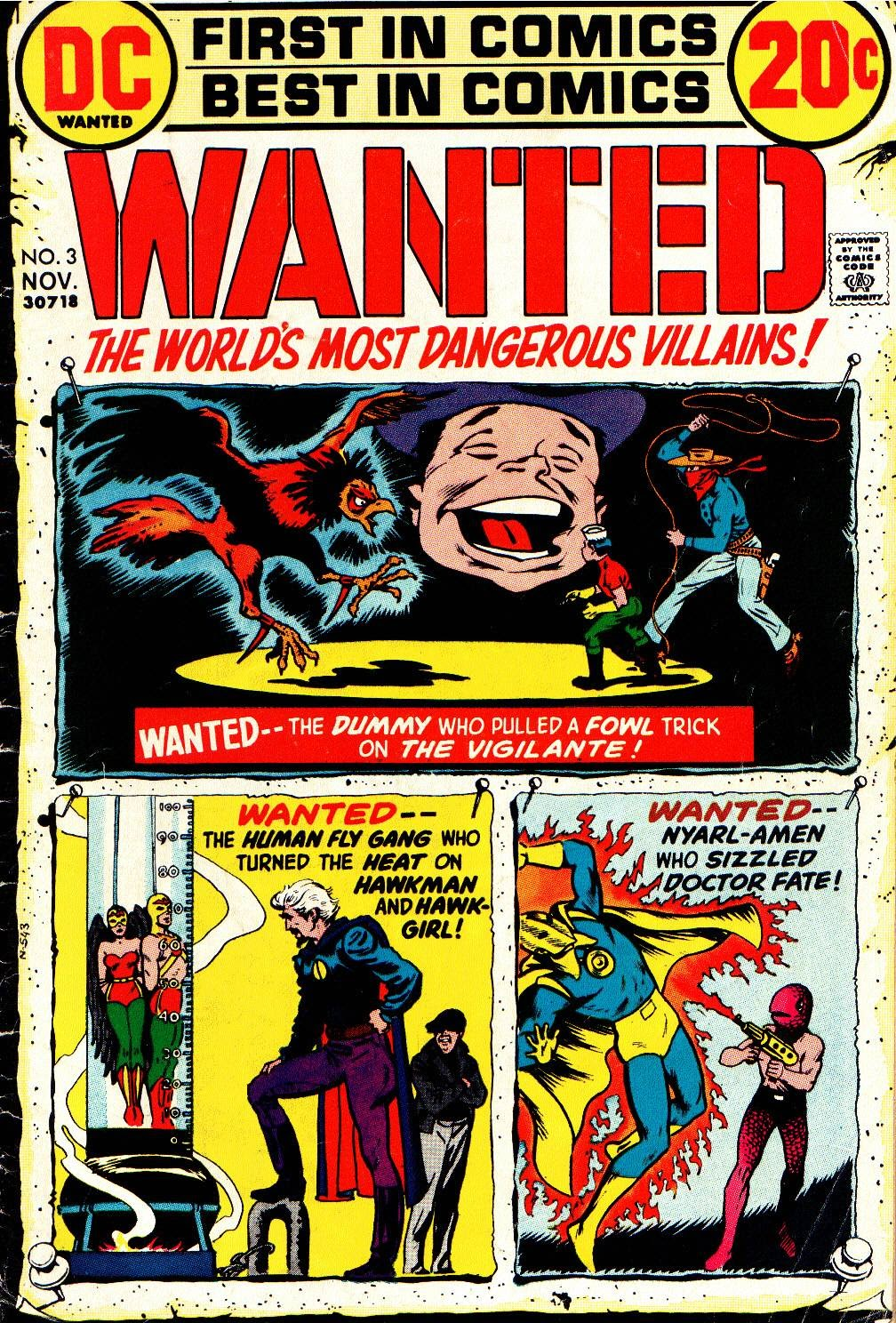 Wanted, the Worlds Most Dangerous Villains 3 Page 1