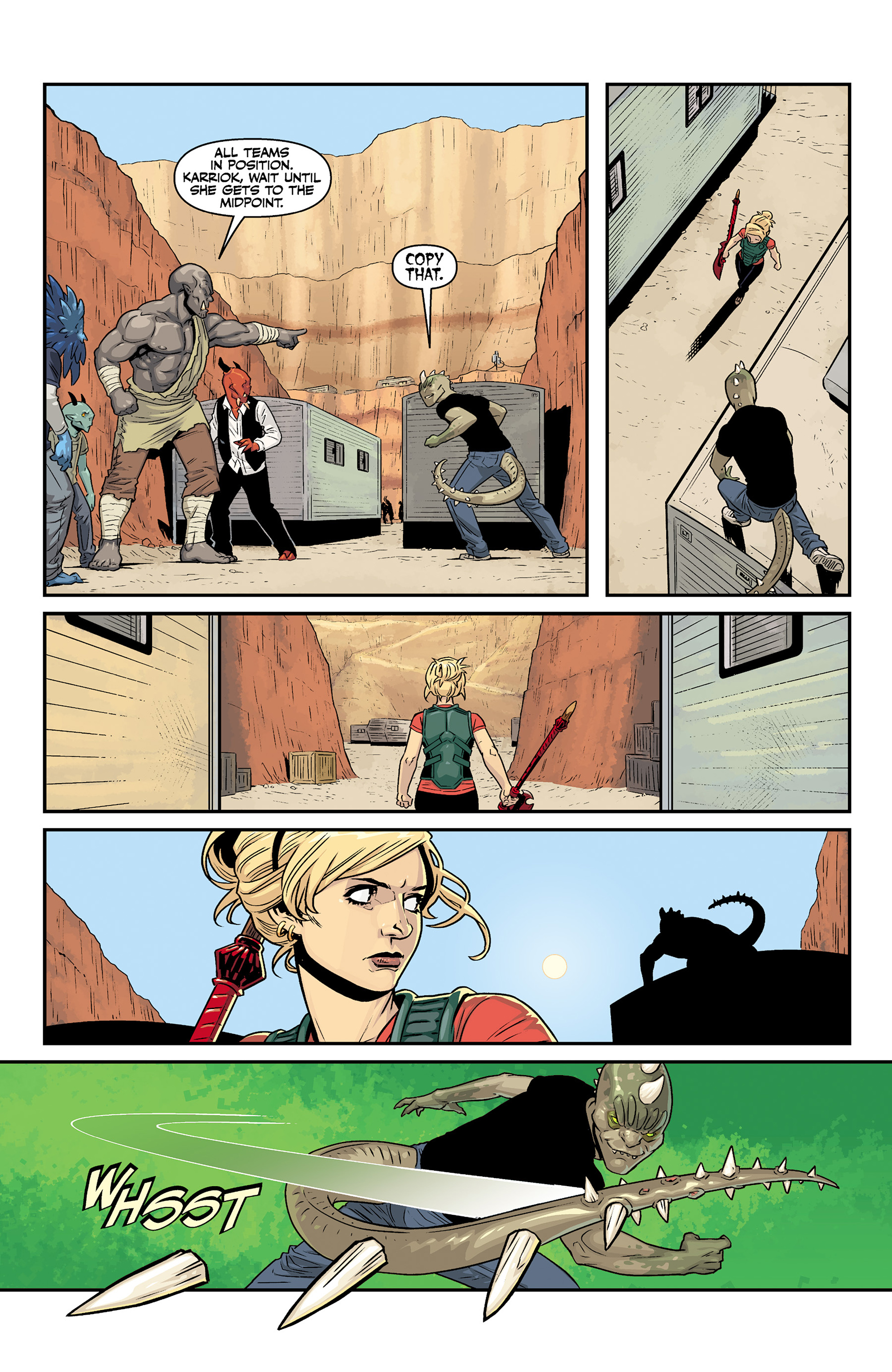 Read online Buffy the Vampire Slayer Season 11 comic -  Issue #6 - 4