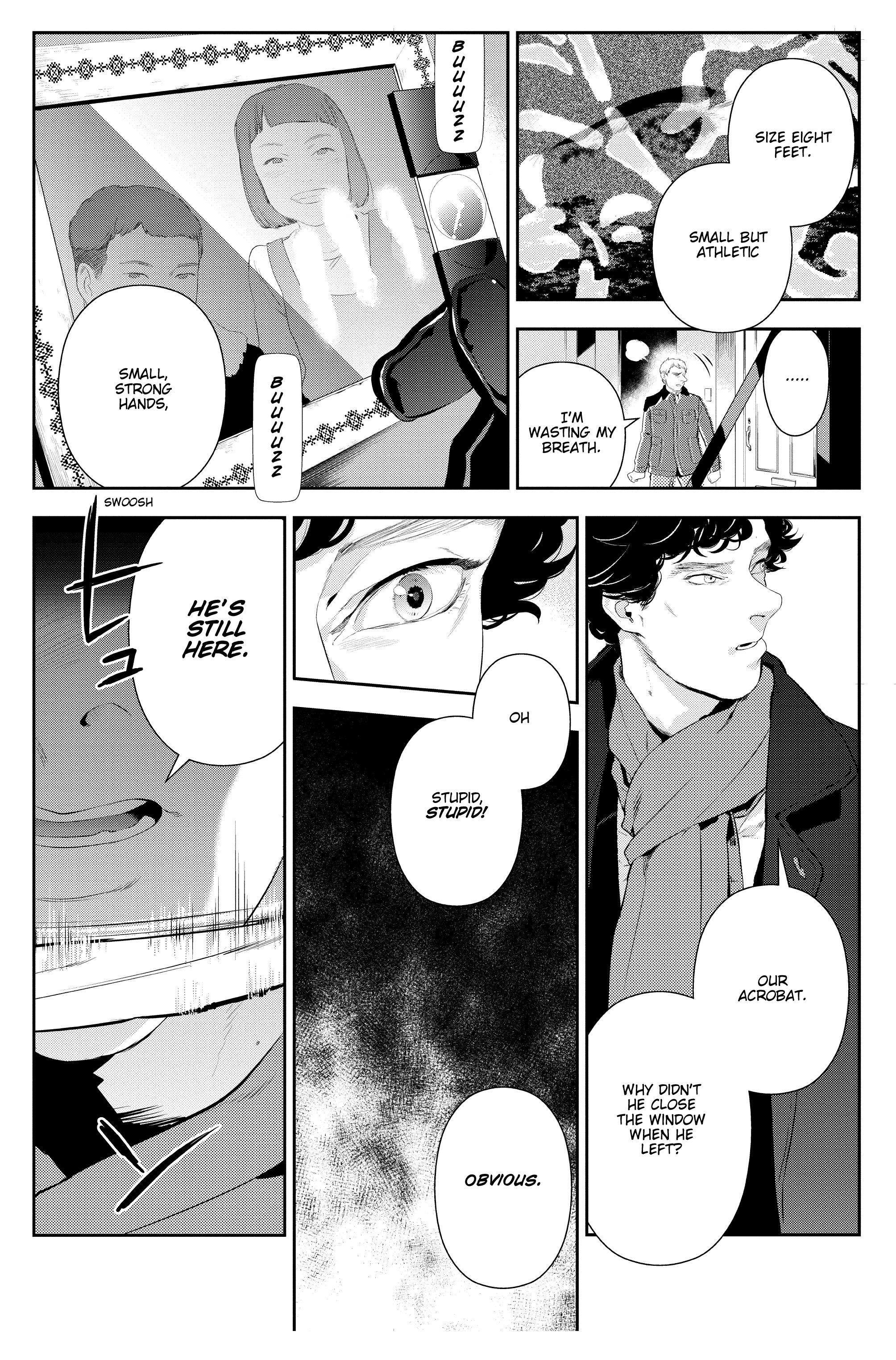 Read online Sherlock: The Blind Banker comic -  Issue #3 - 30
