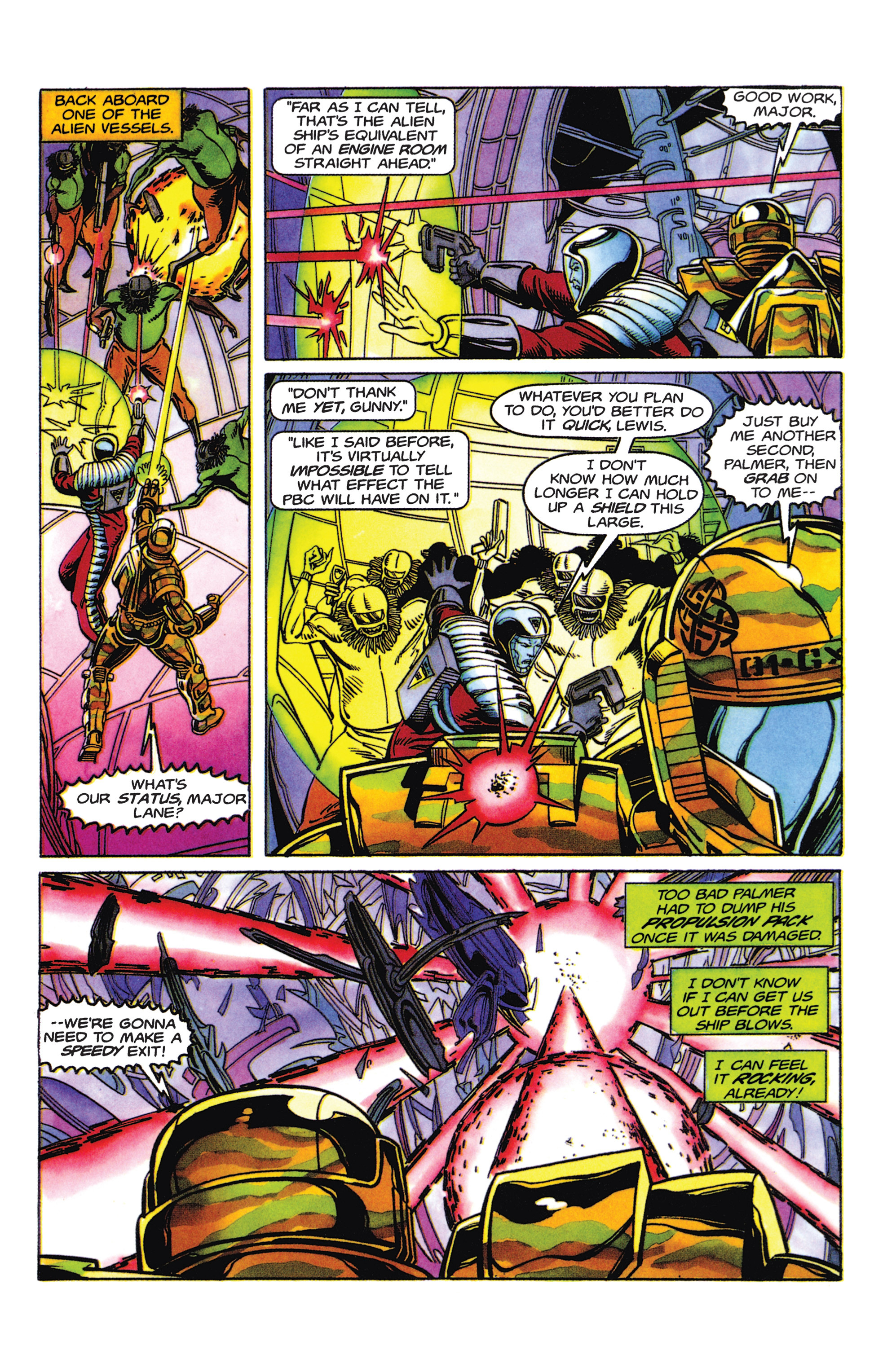 Read online Armorines comic -  Issue #5 - 16