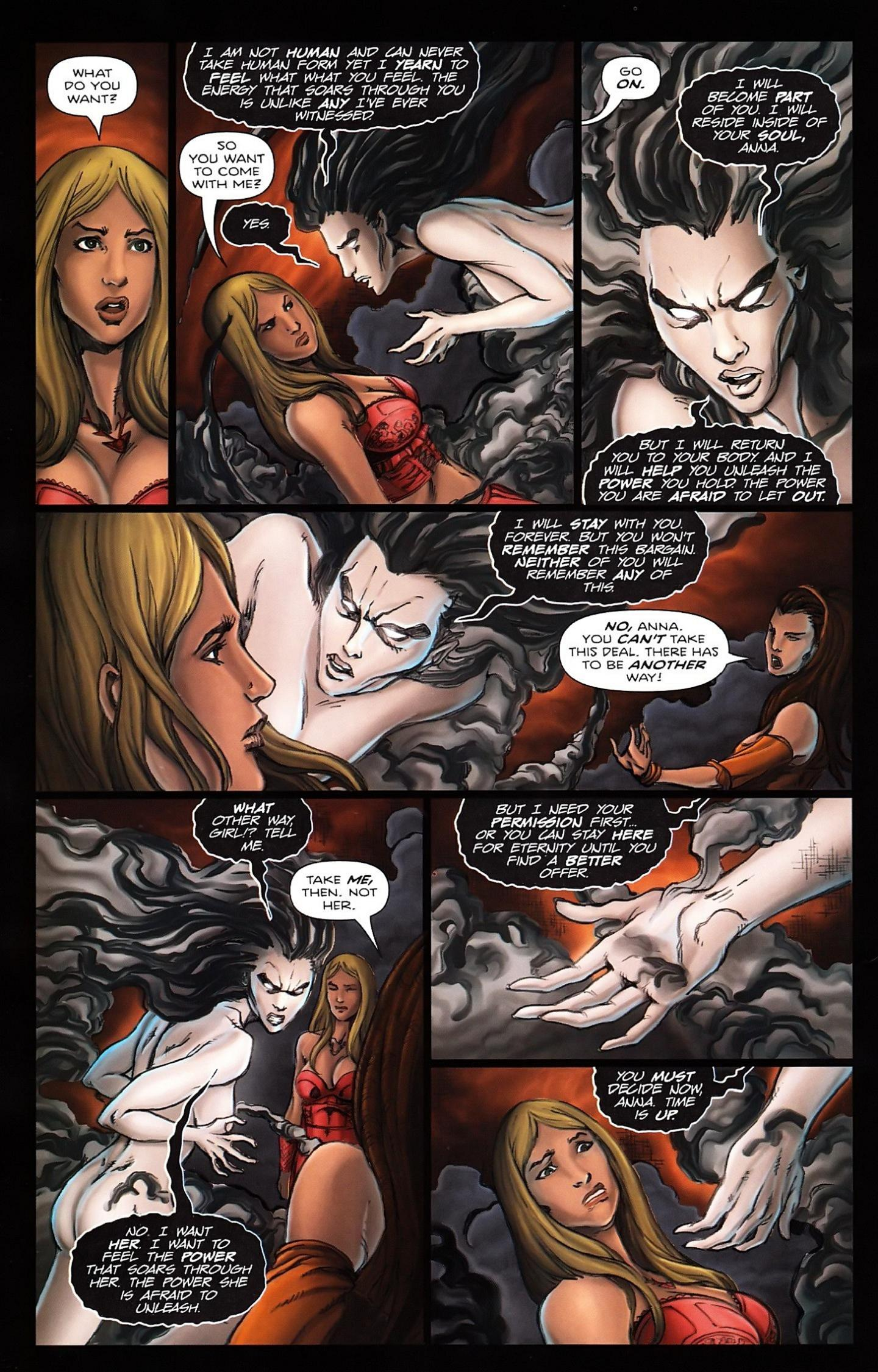 Read online Salem's Daughter: The Haunting comic -  Issue #5 - 22