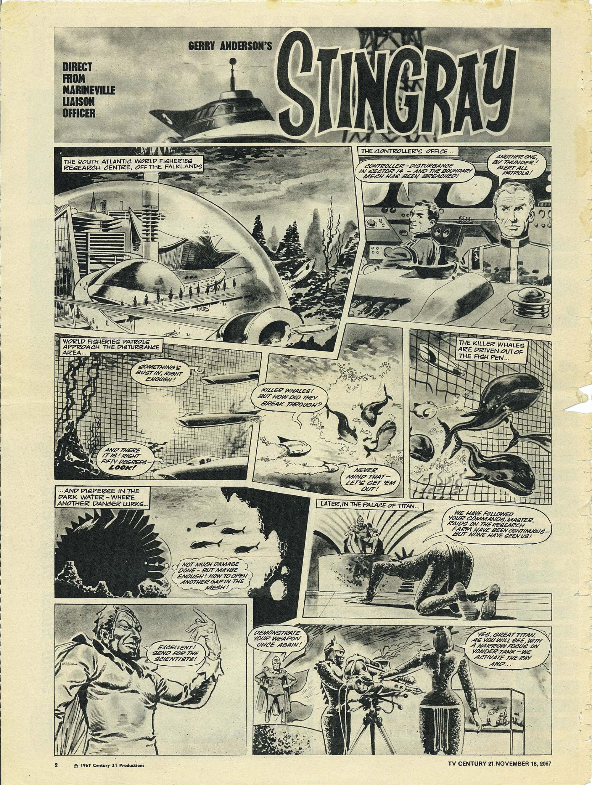Read online TV Century 21 (TV 21) comic -  Issue #148 - 2