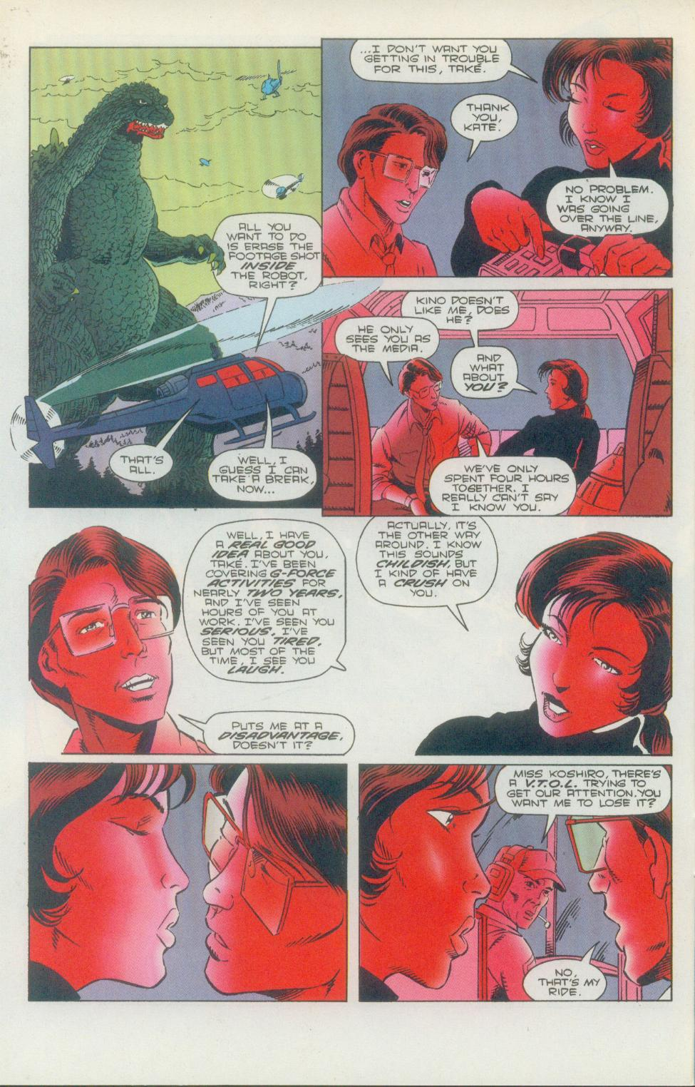 Godzilla (1995) Issue #2 #3 - English 13