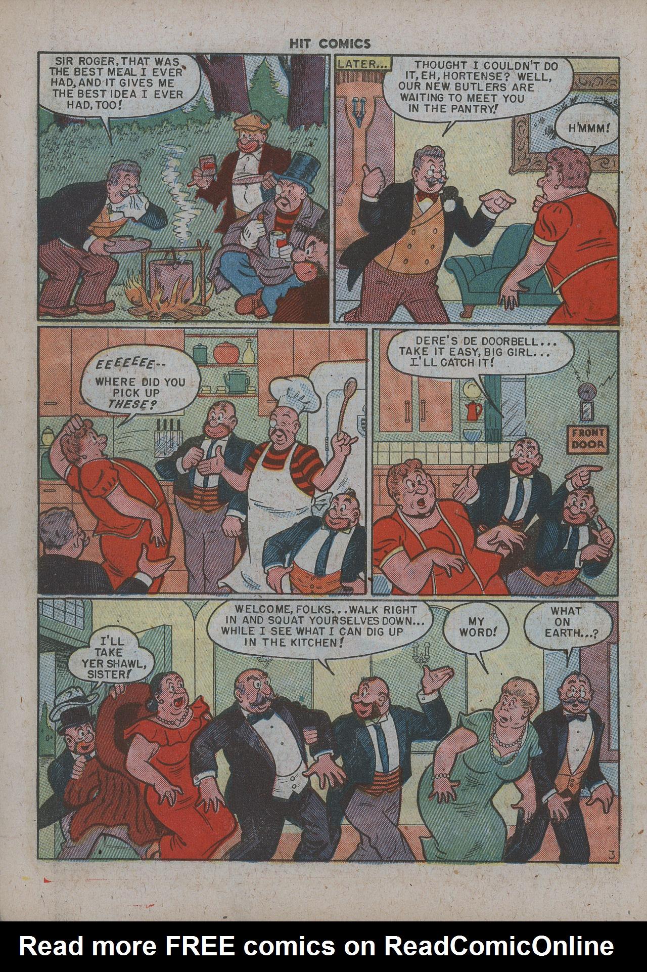 Read online Hit Comics comic -  Issue #63 - 18