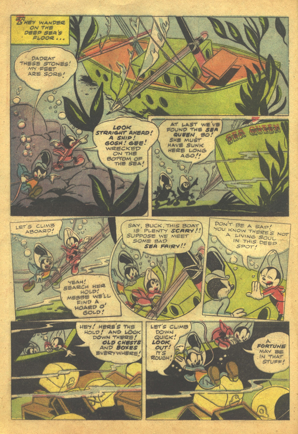 Walt Disney's Comics and Stories issue 62 - Page 16