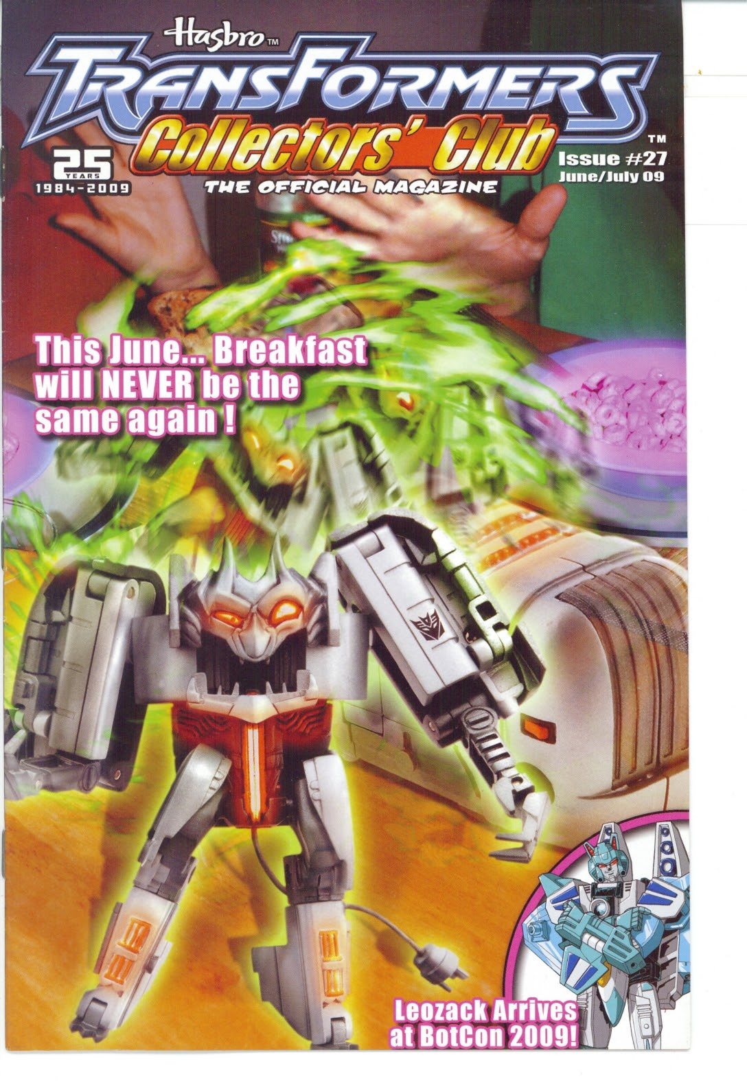 Read online Transformers: Collectors' Club comic -  Issue #27 - 1