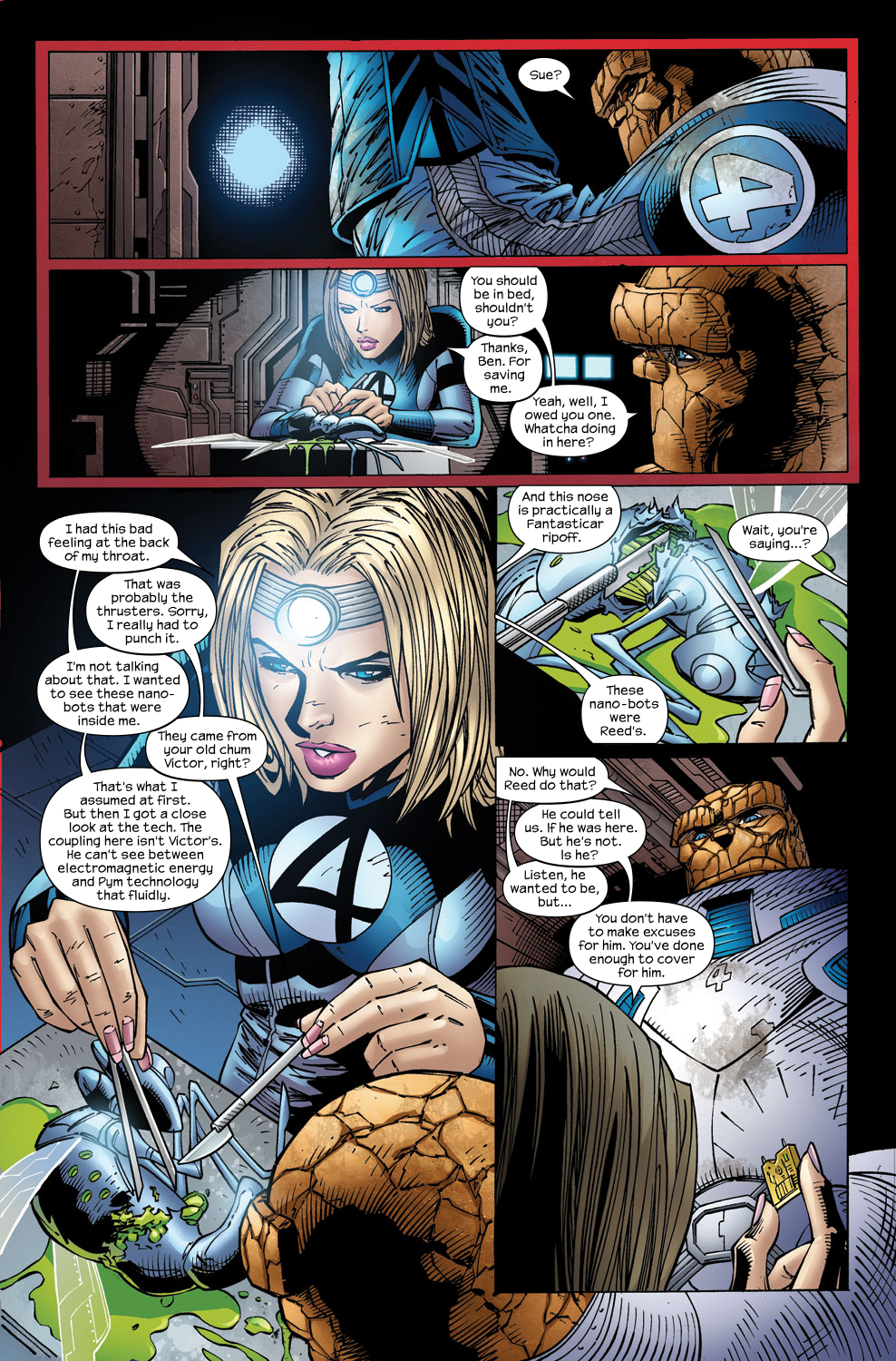 Read online Ultimate Fantastic Four (2004) comic -  Issue #59 - 22